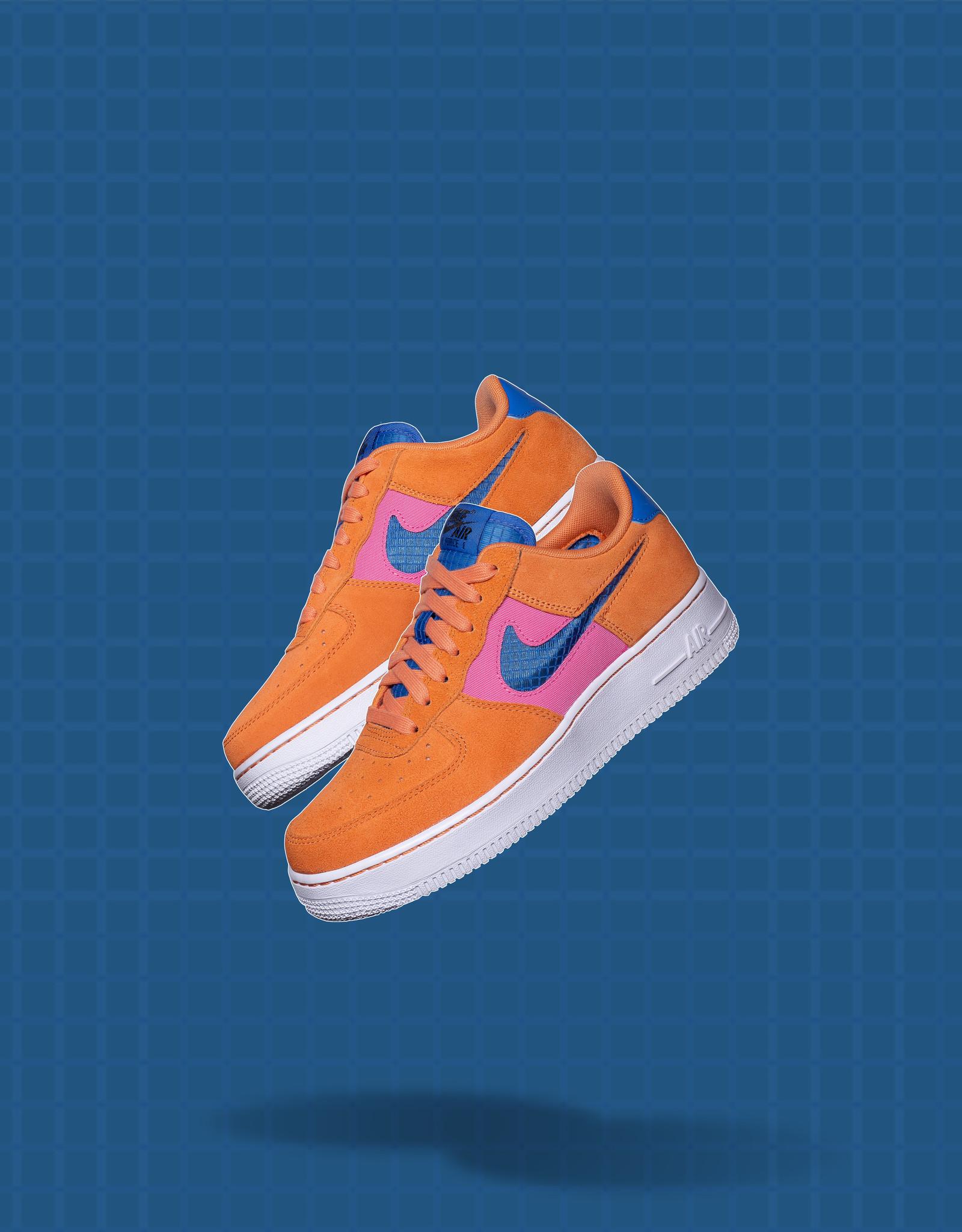 Nike Air Force 1 '07 LV8 Orange/Pacific Blue
