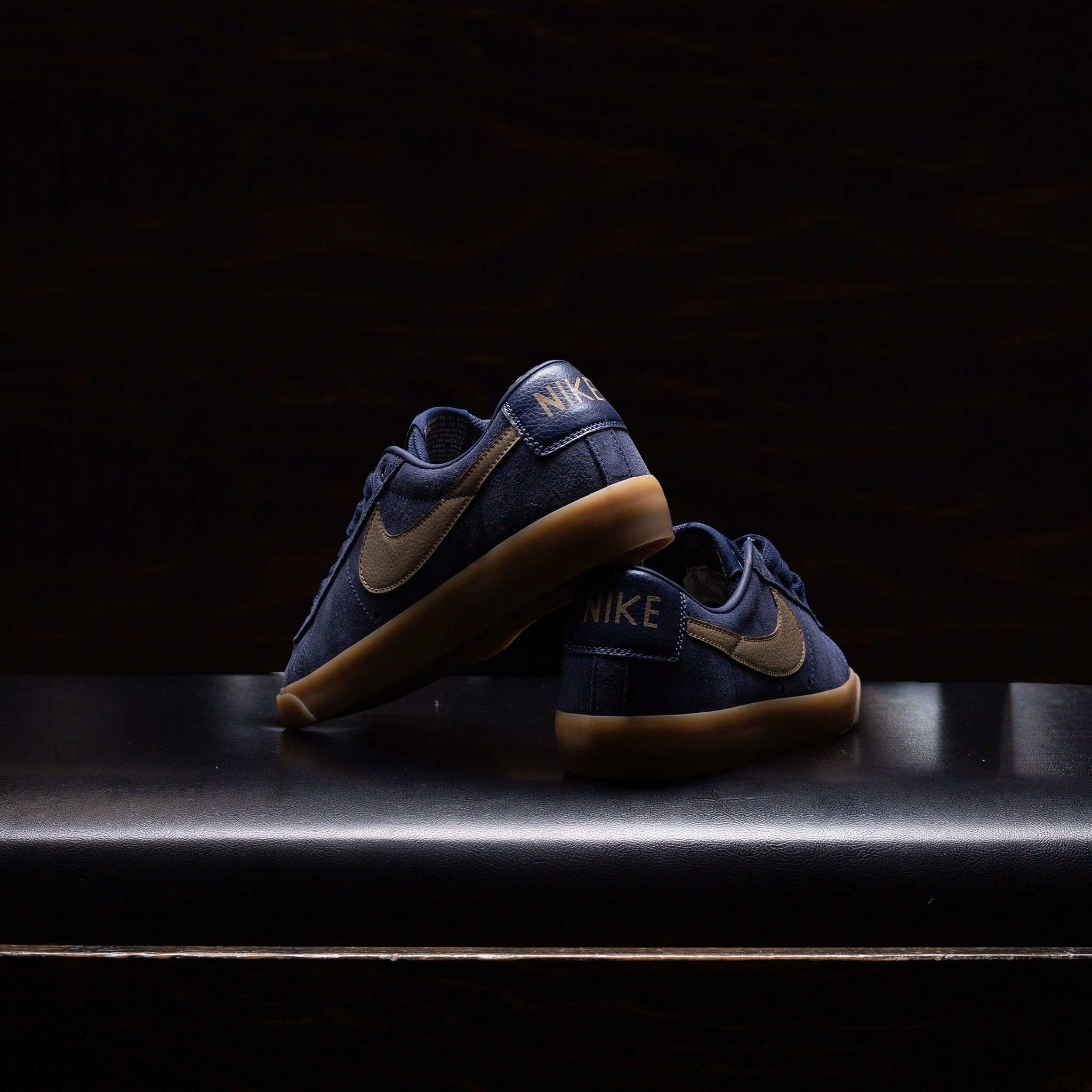 Nike SB Blazer Low GT Midnight Navy/Gum