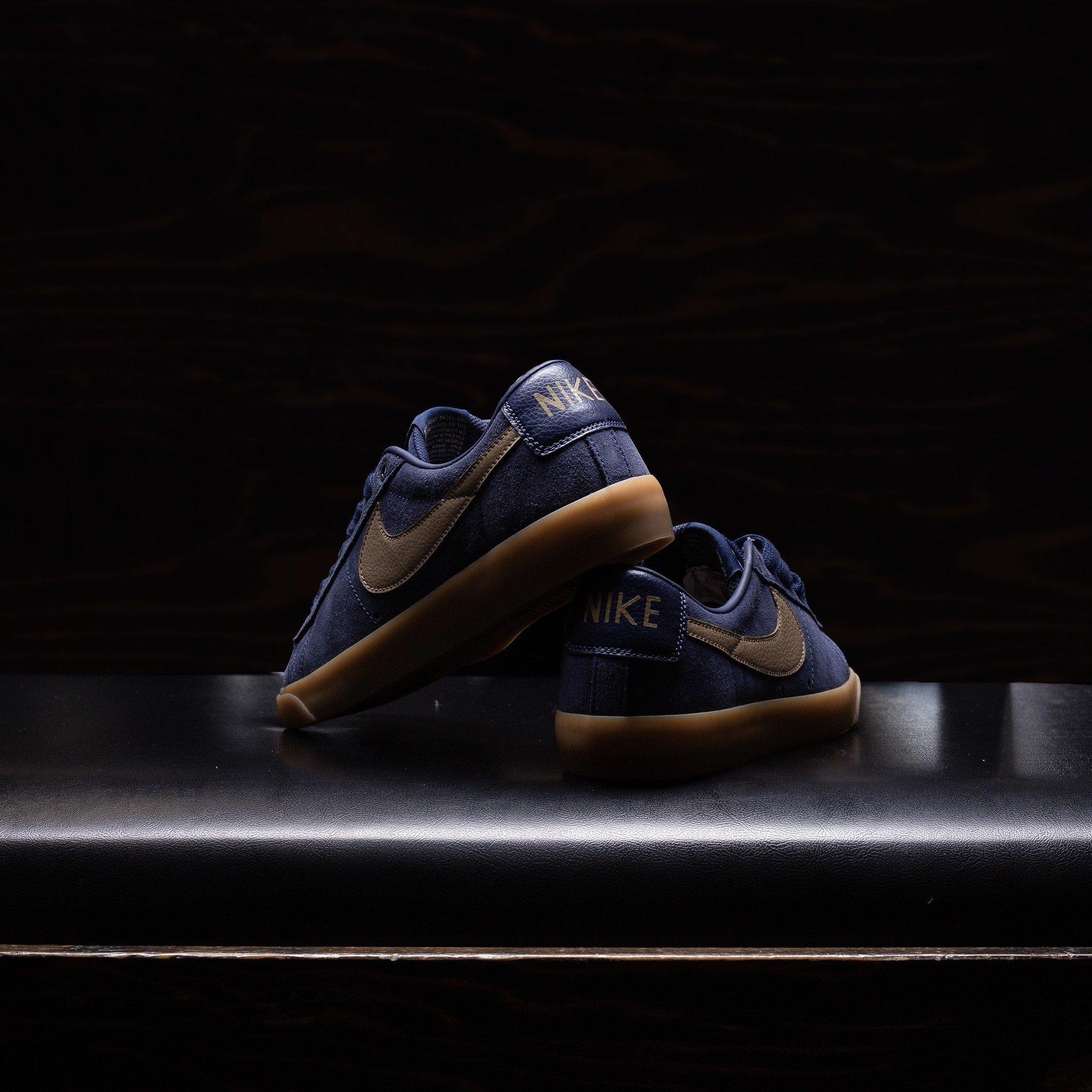 Nike SB Blazer Low GT Midnight Navy/Gum