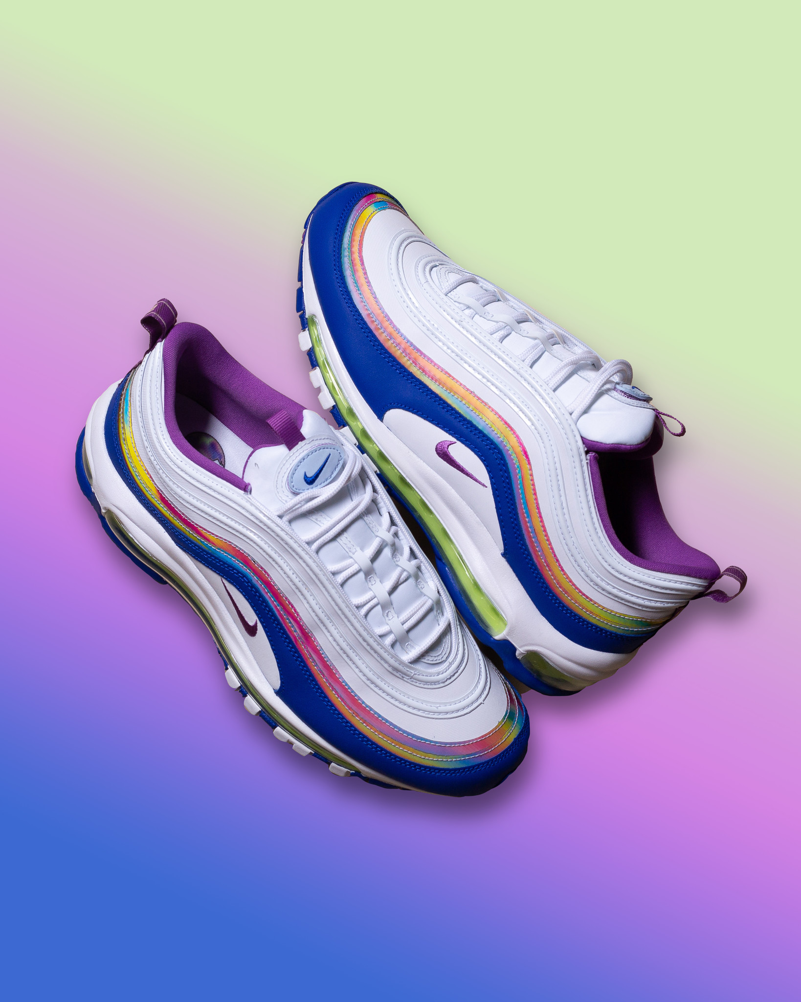 Nike Air Max 97 White/Purple Nebula