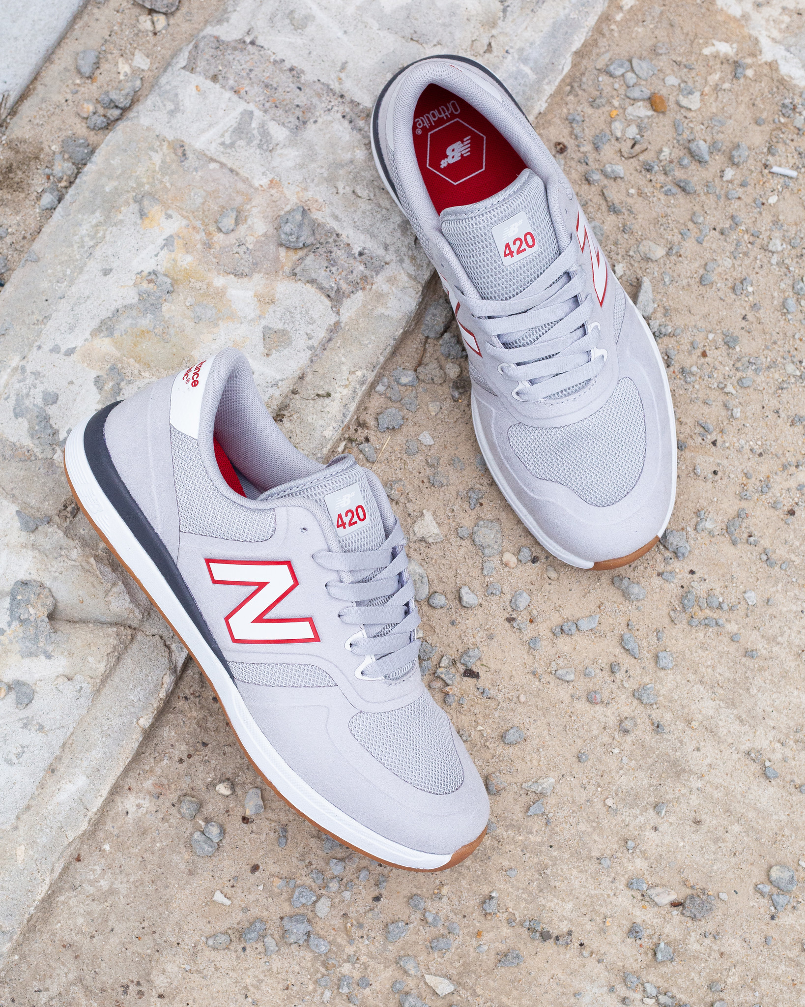 New Balance New Balance 420 Marquise Henry grey red white