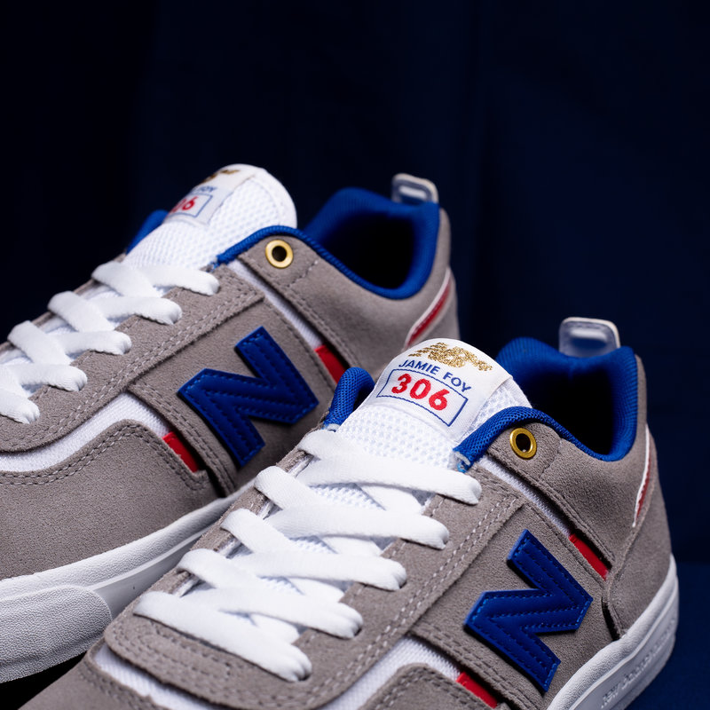 New Balance 306 Grey/White/Navy
