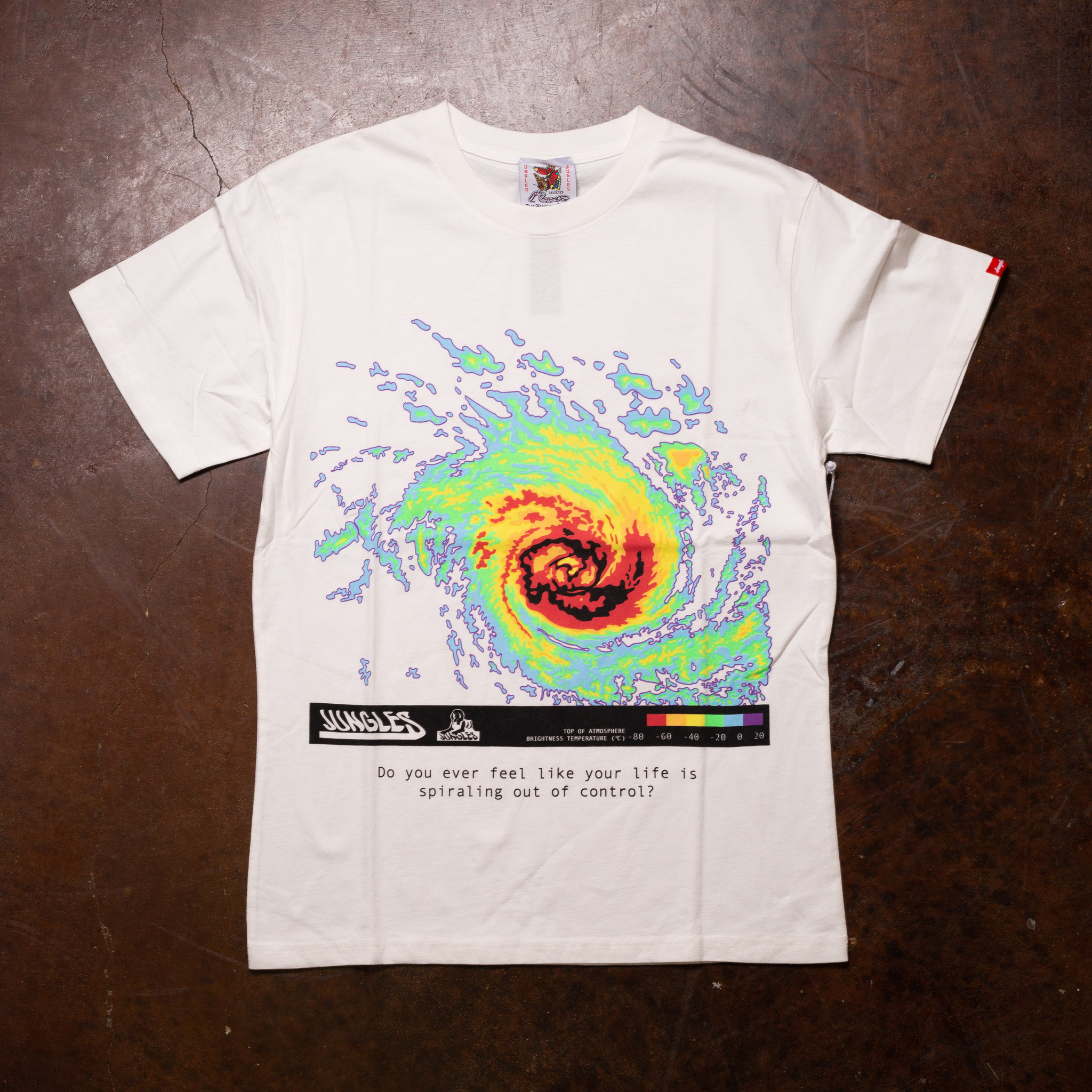Jungles Spiraling Out Of Control Tee