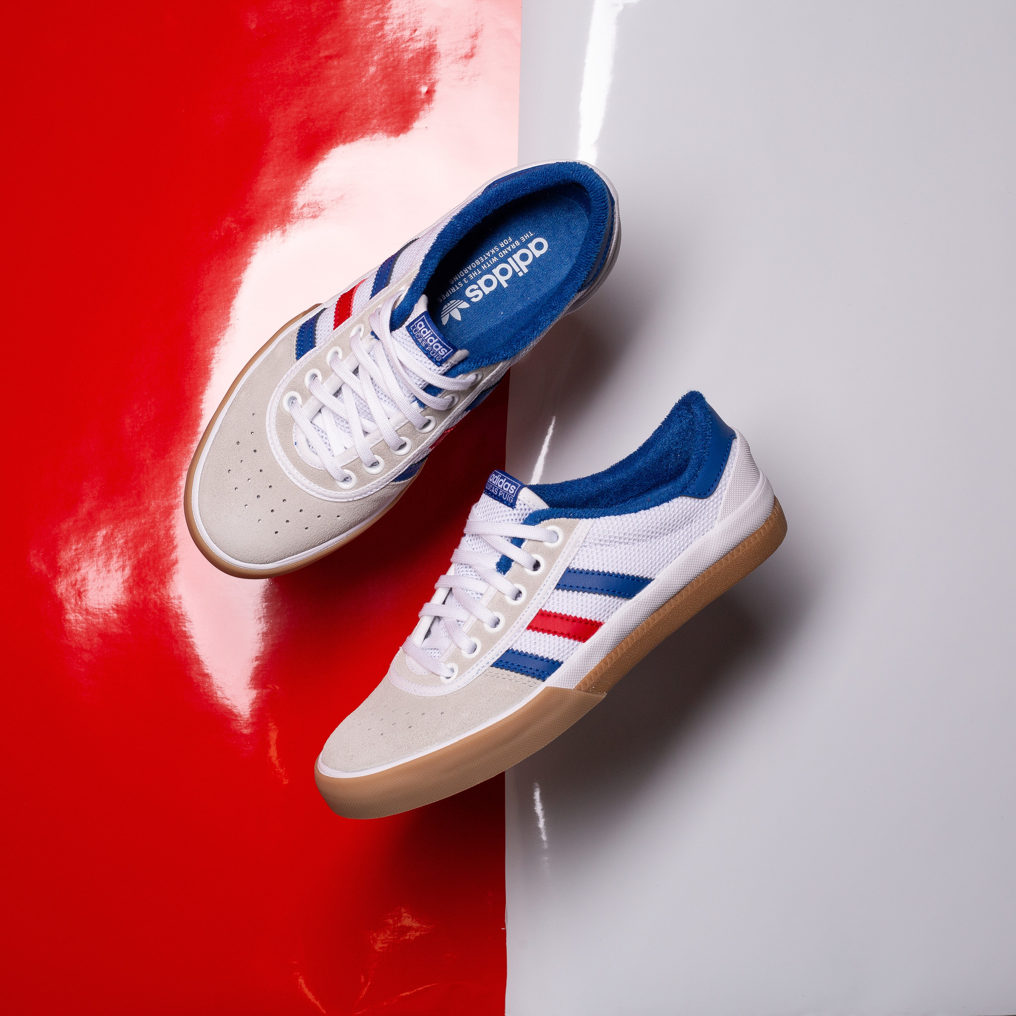 adidas Lucas White/Red/Blue