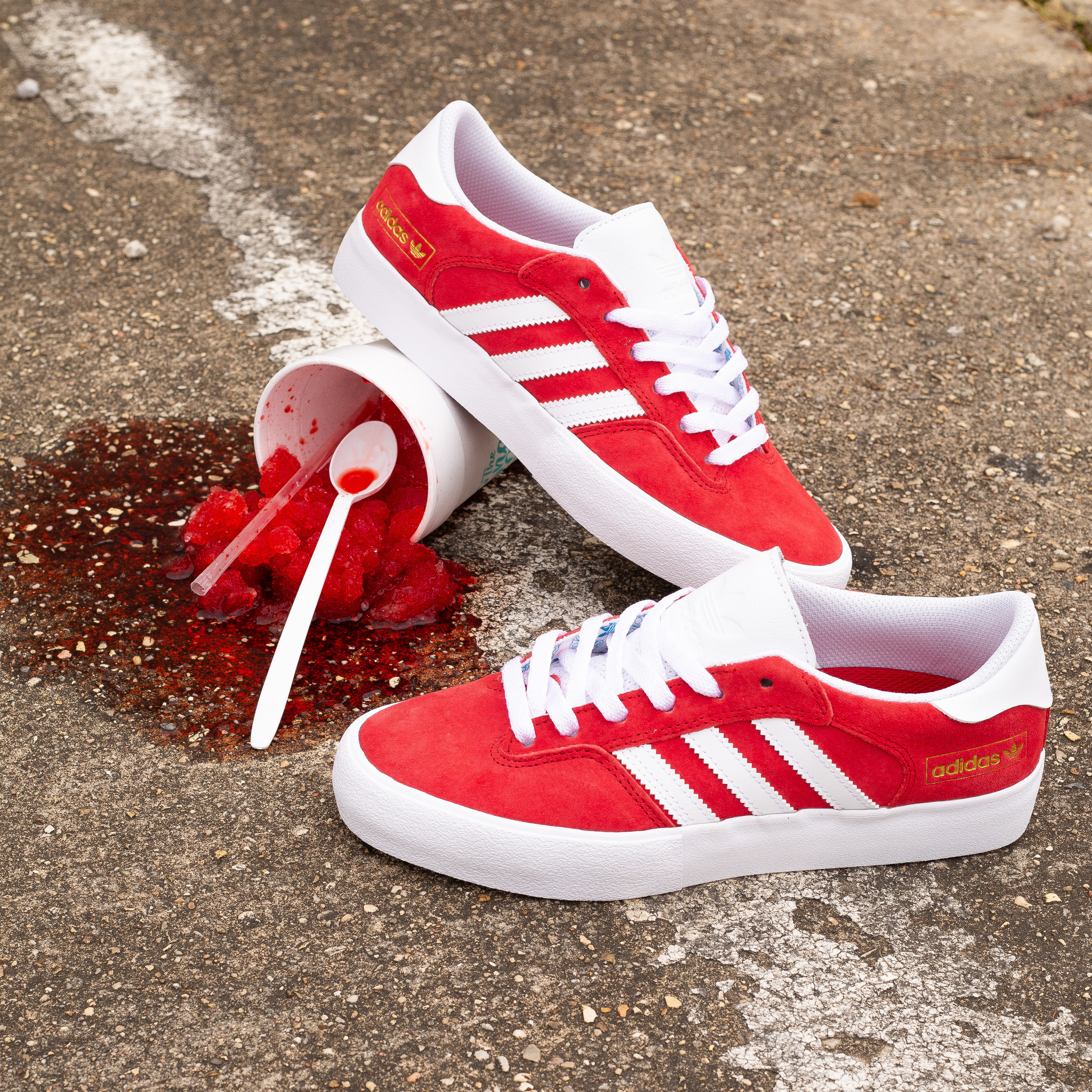 adidas Matchbreak Super Red/White