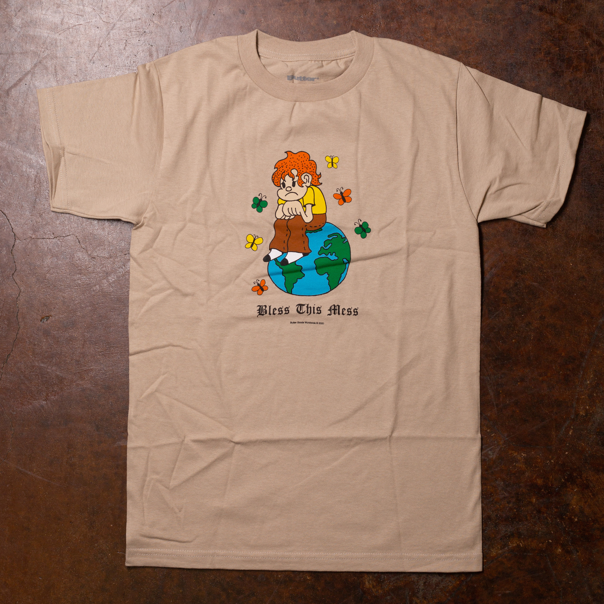 Butter Goods Bless This Mess Tee