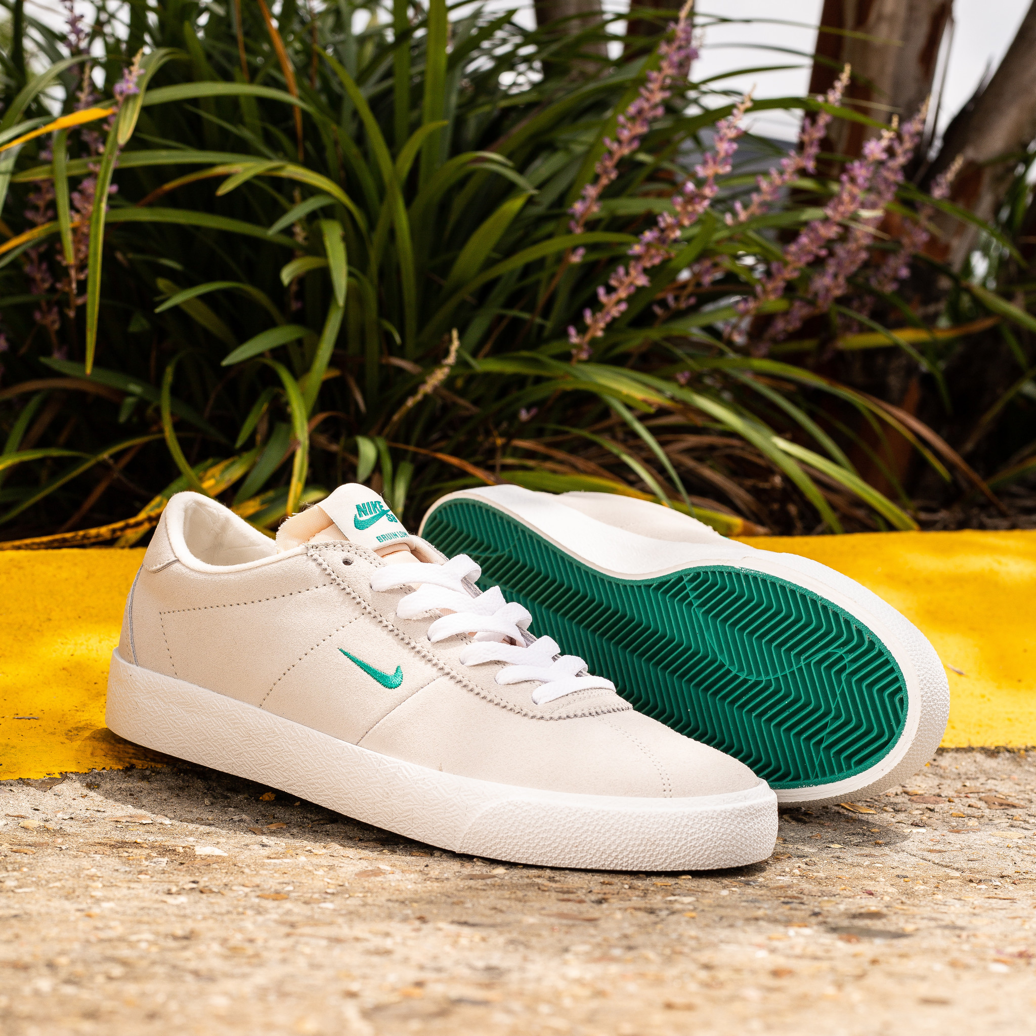 Nike SB Bruin light cream/neptune green