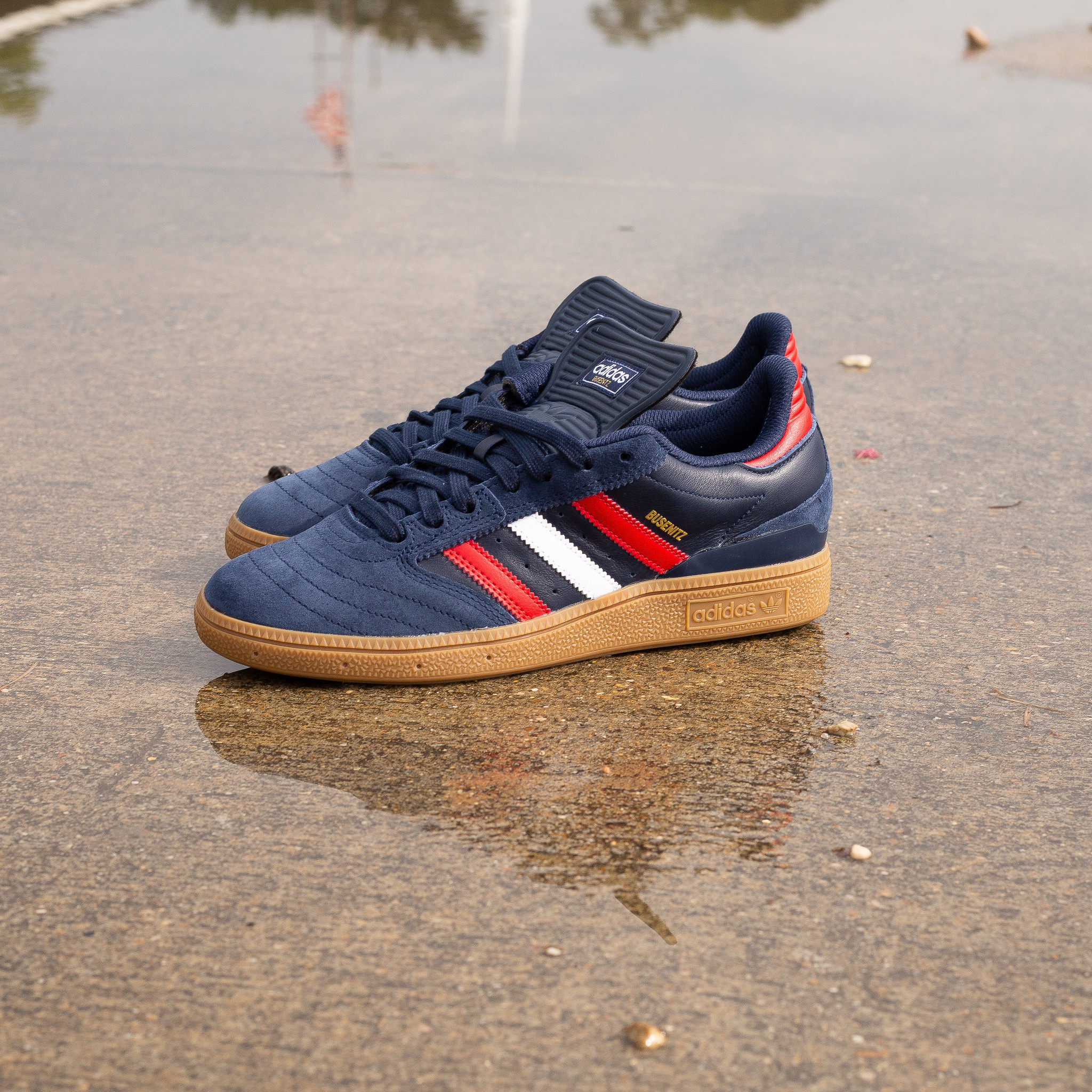 adidas Busenitz Navy/Red/Gum