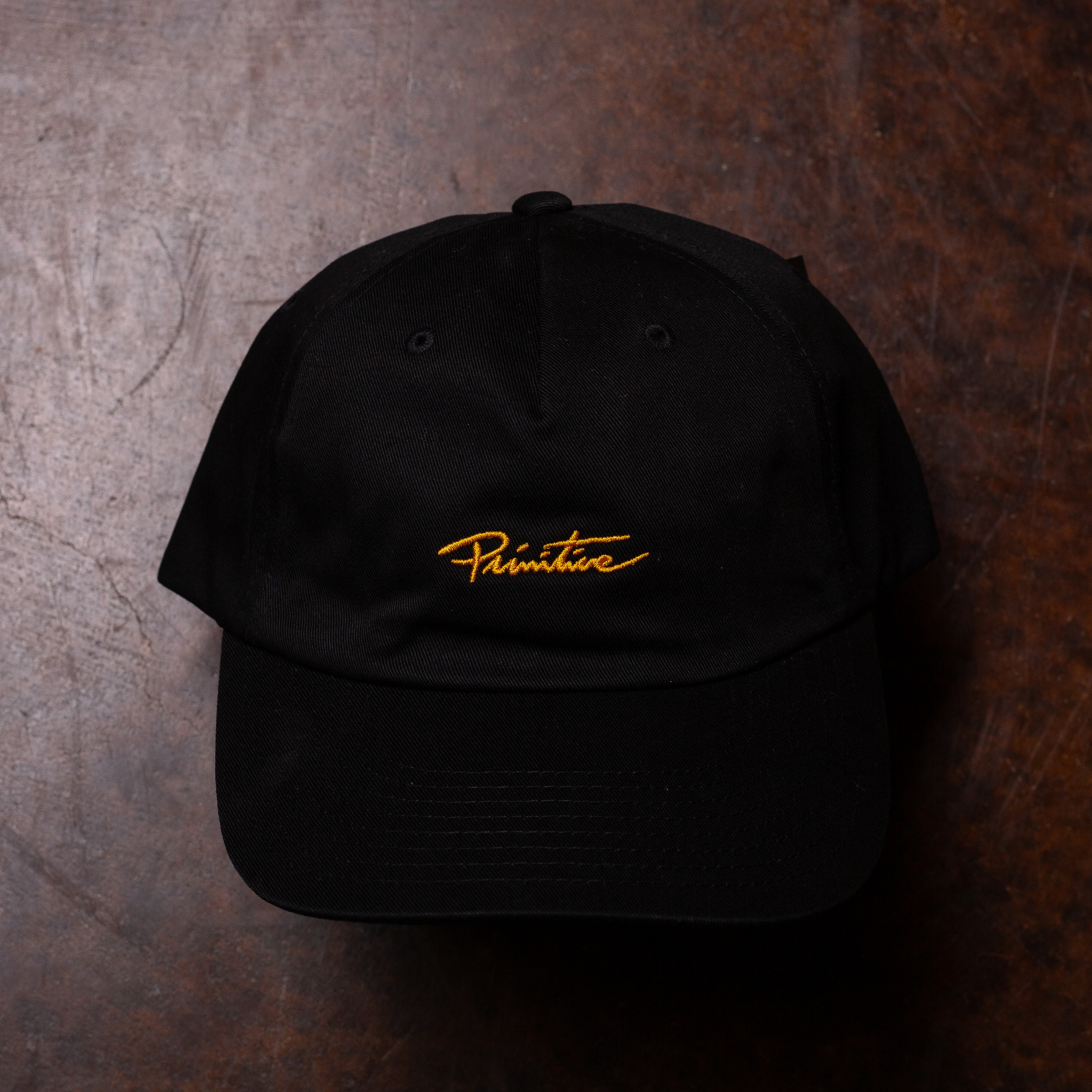 Primitive Mini Nuevo Script Dad Hat