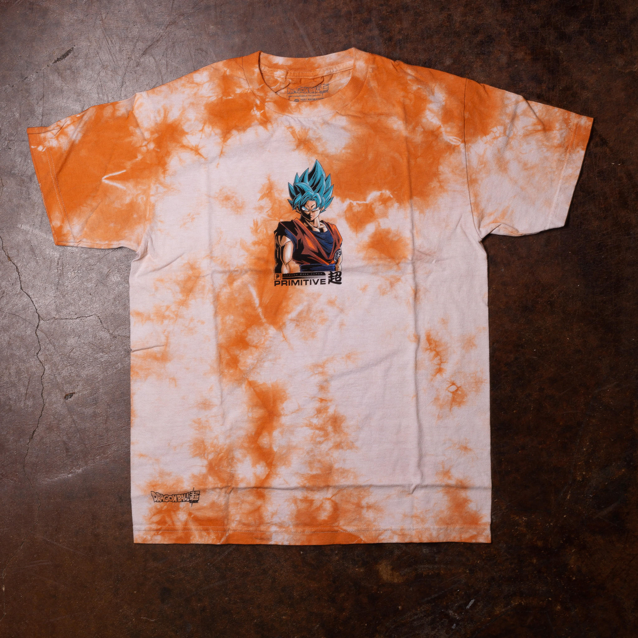 Primitive Shadow Goku washed tee