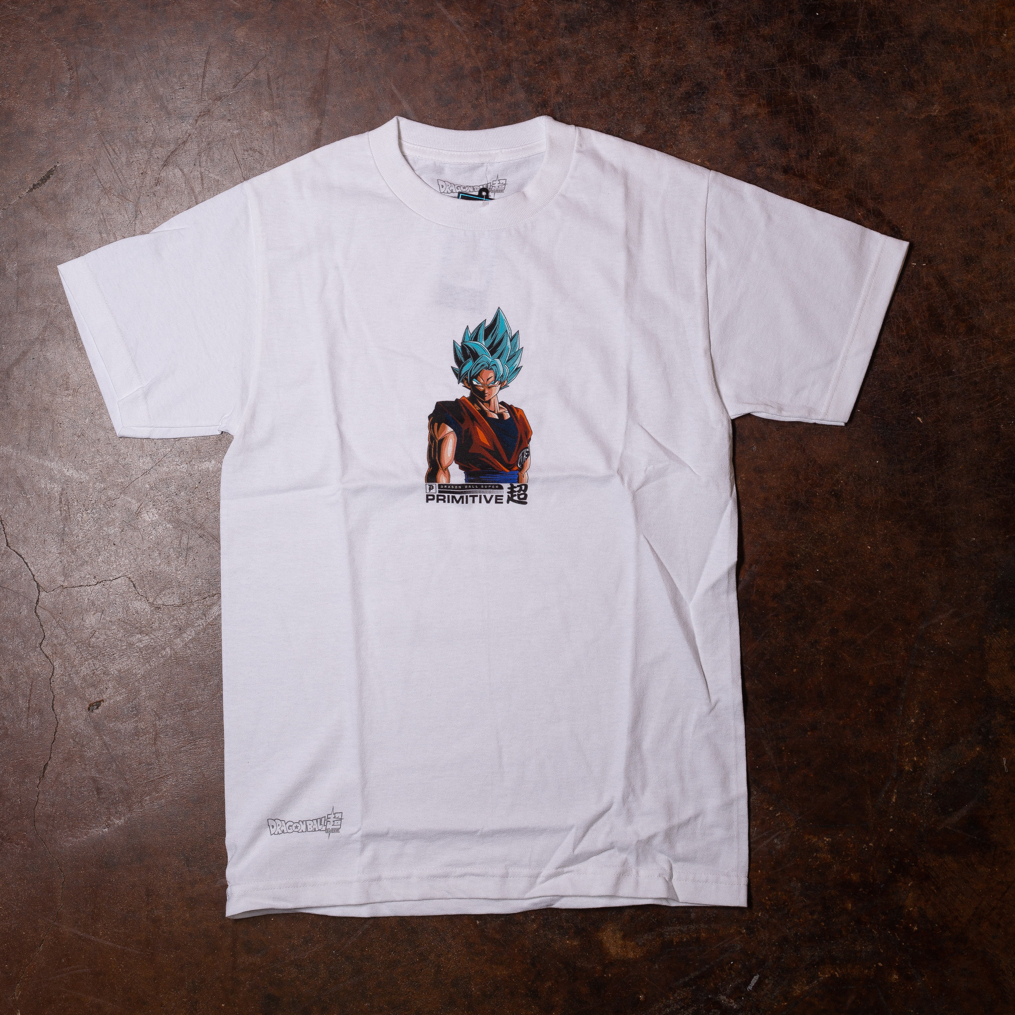 Primitive Shadow Goku Tee