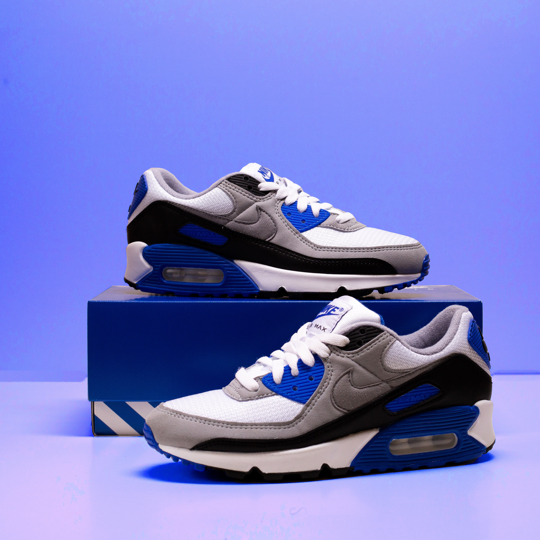 Nike Air Max 90 white/blue