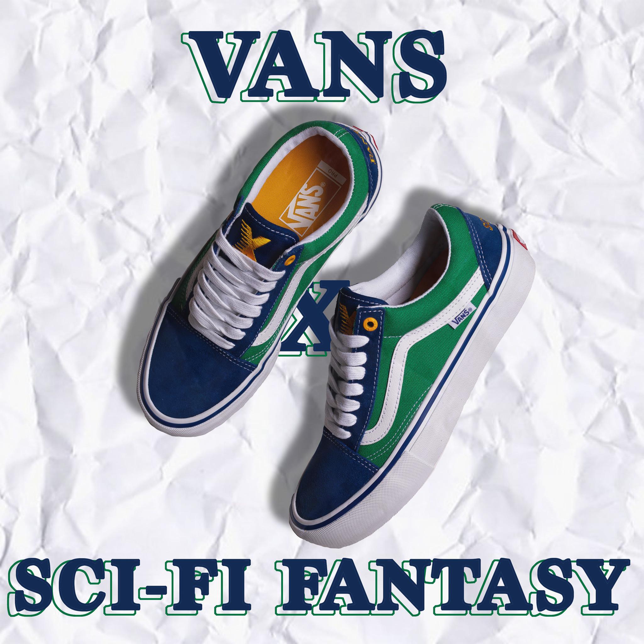 Vans Vans x Sci-Fi Fantasy Old Skool Pro