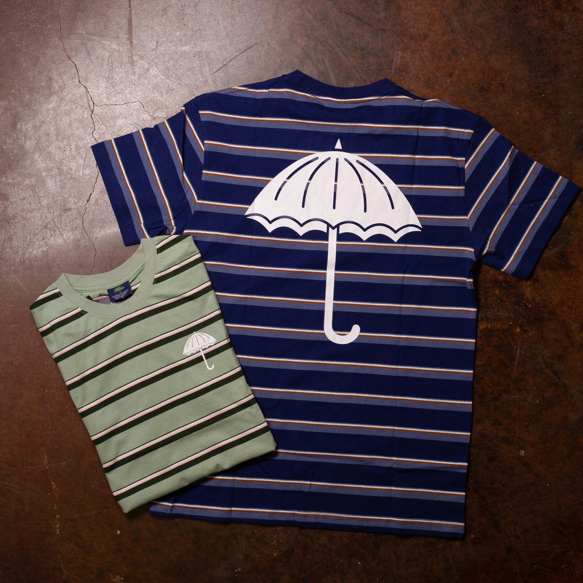Helas Stripy Umbrella Tee