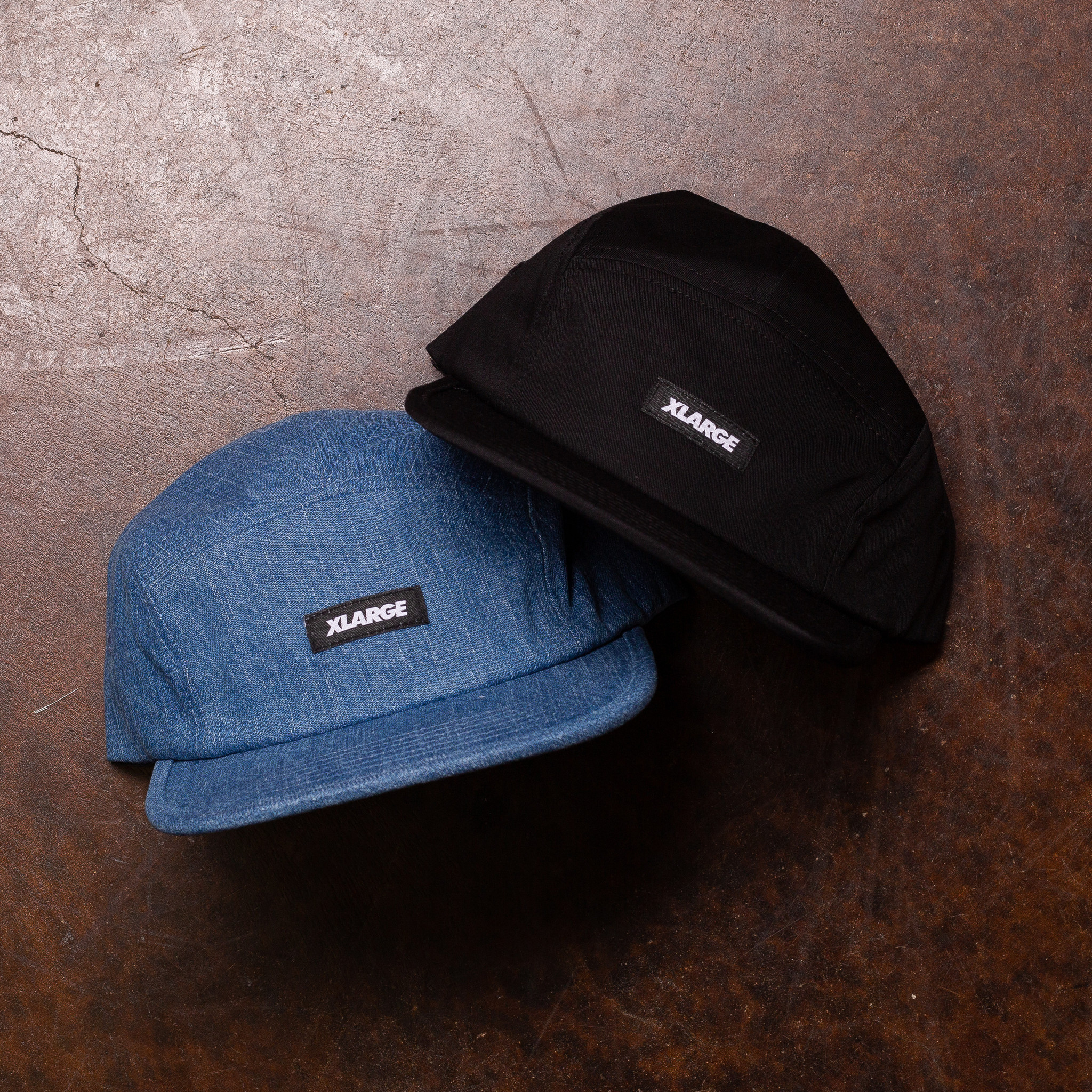 XLarge Patched Camp Cap