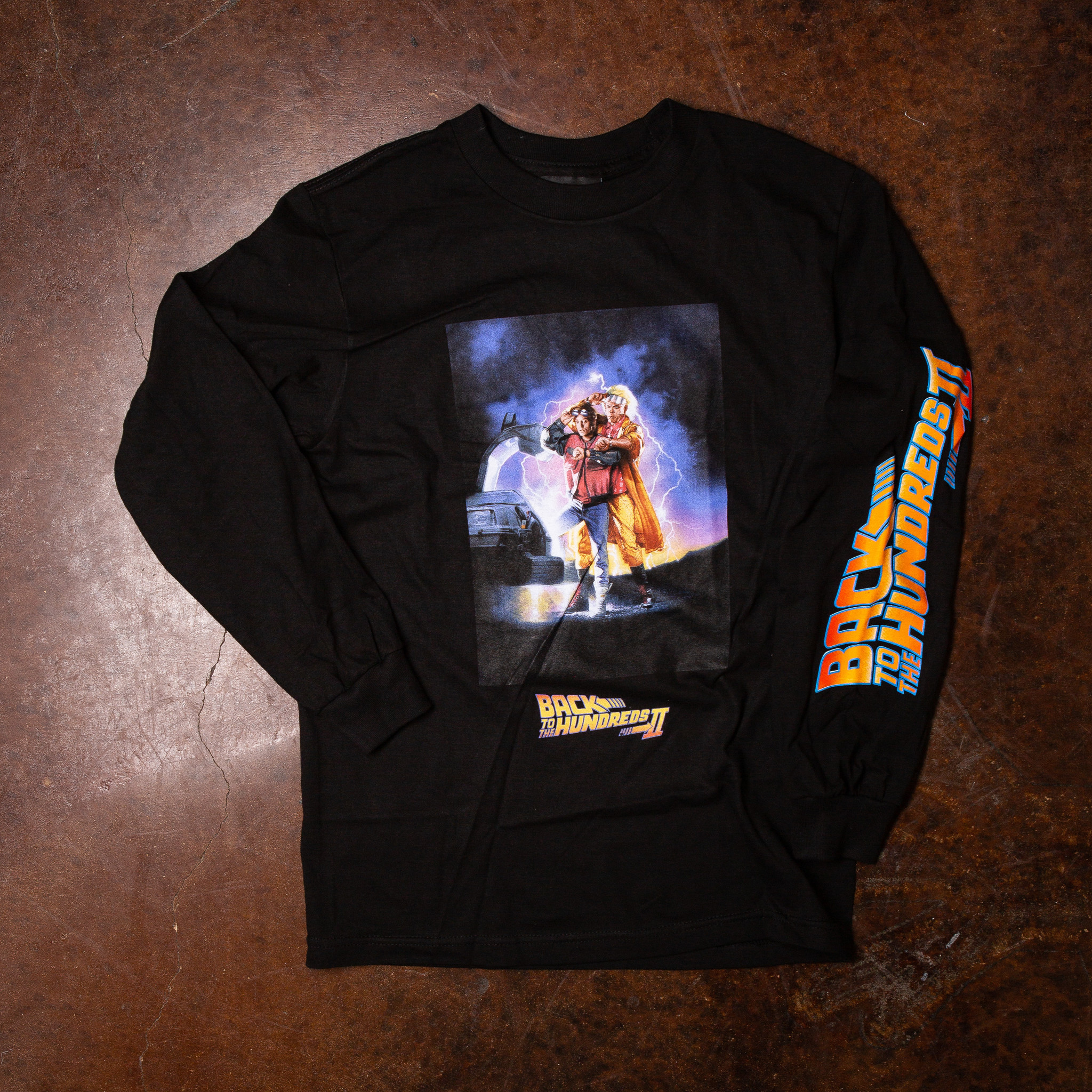 The Hundreds The Hundreds x Back To The Future Cover L/S Tee