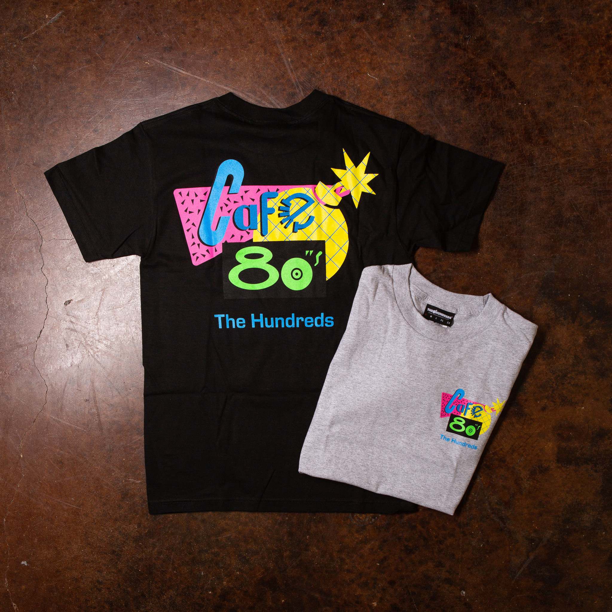 The Hundreds The Hundreds x Back To The Future Cafe 80's Tee