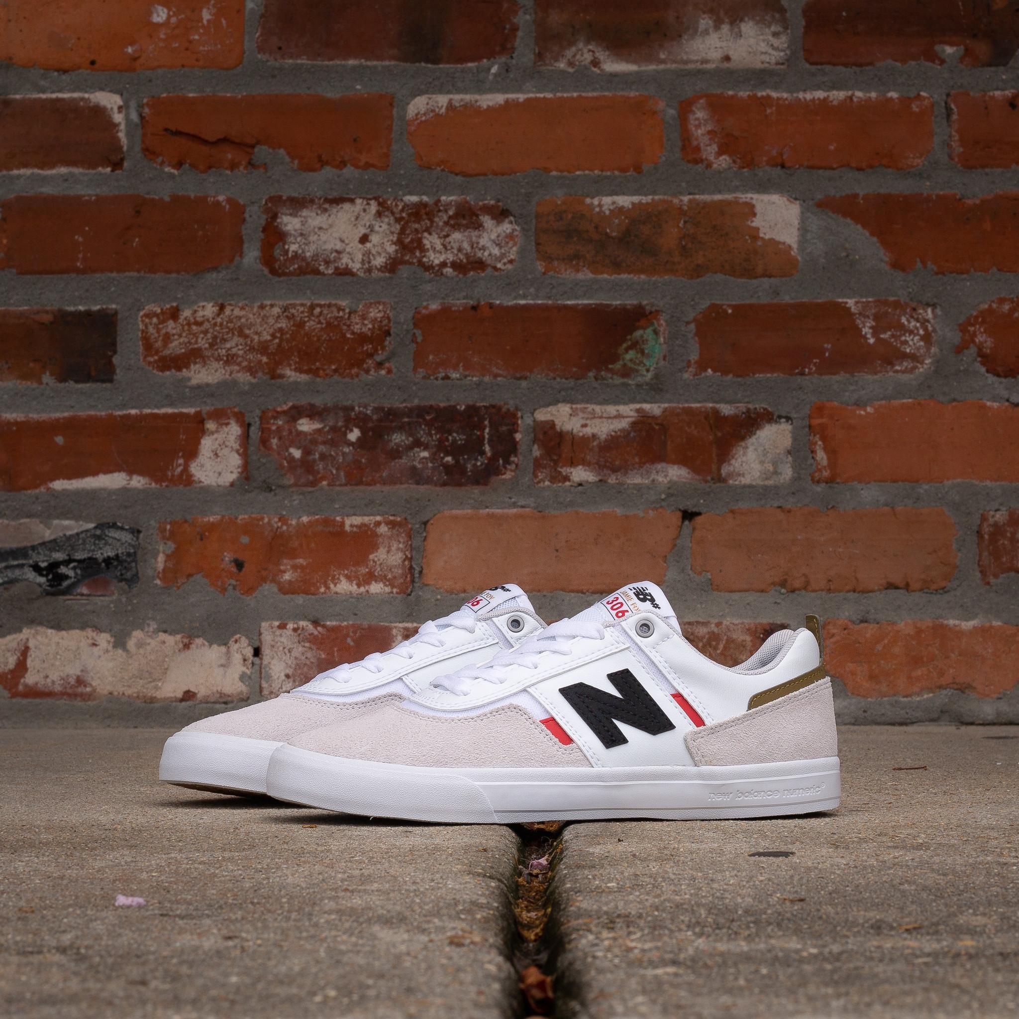 New Balance Jamie Foy 306 white/red