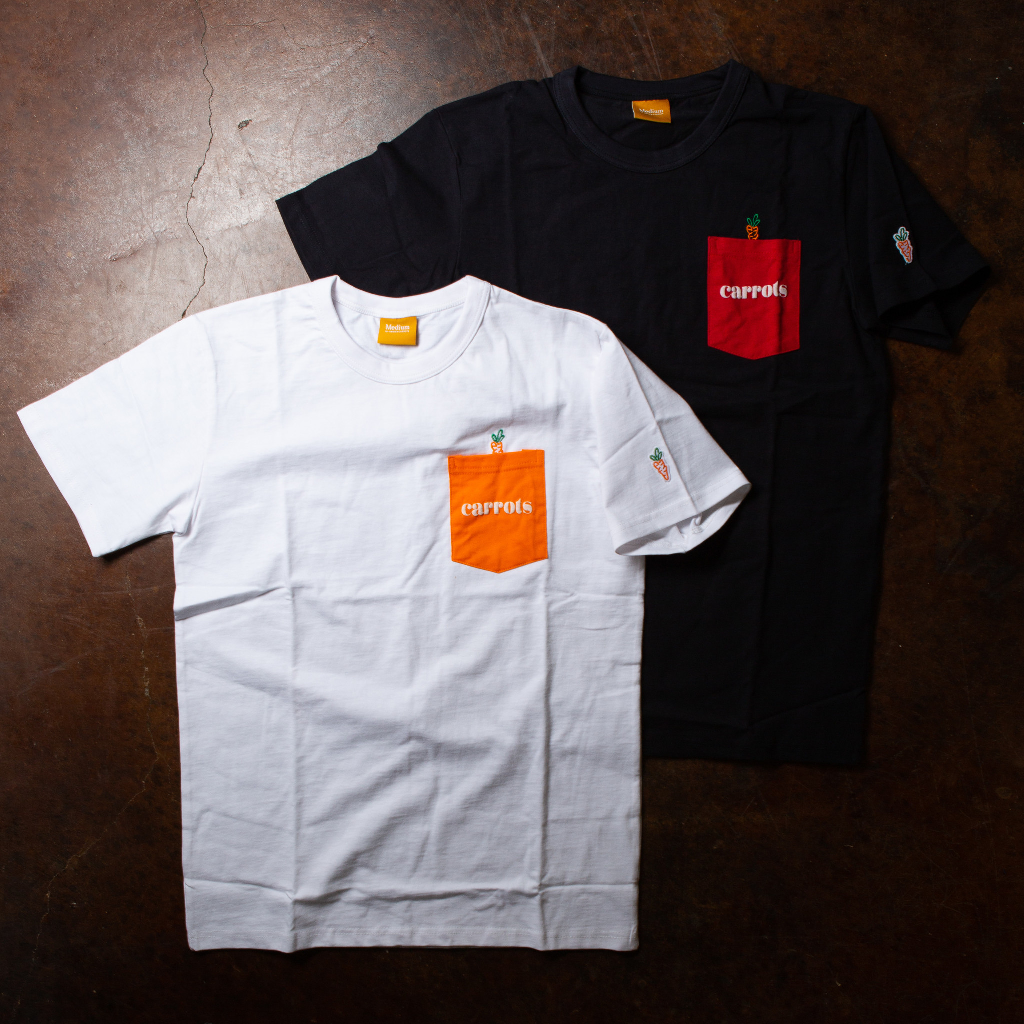 Carrots Carrots Pocket Tee