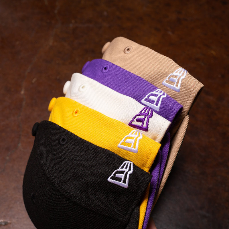 Rukus x New Era fitted low crown