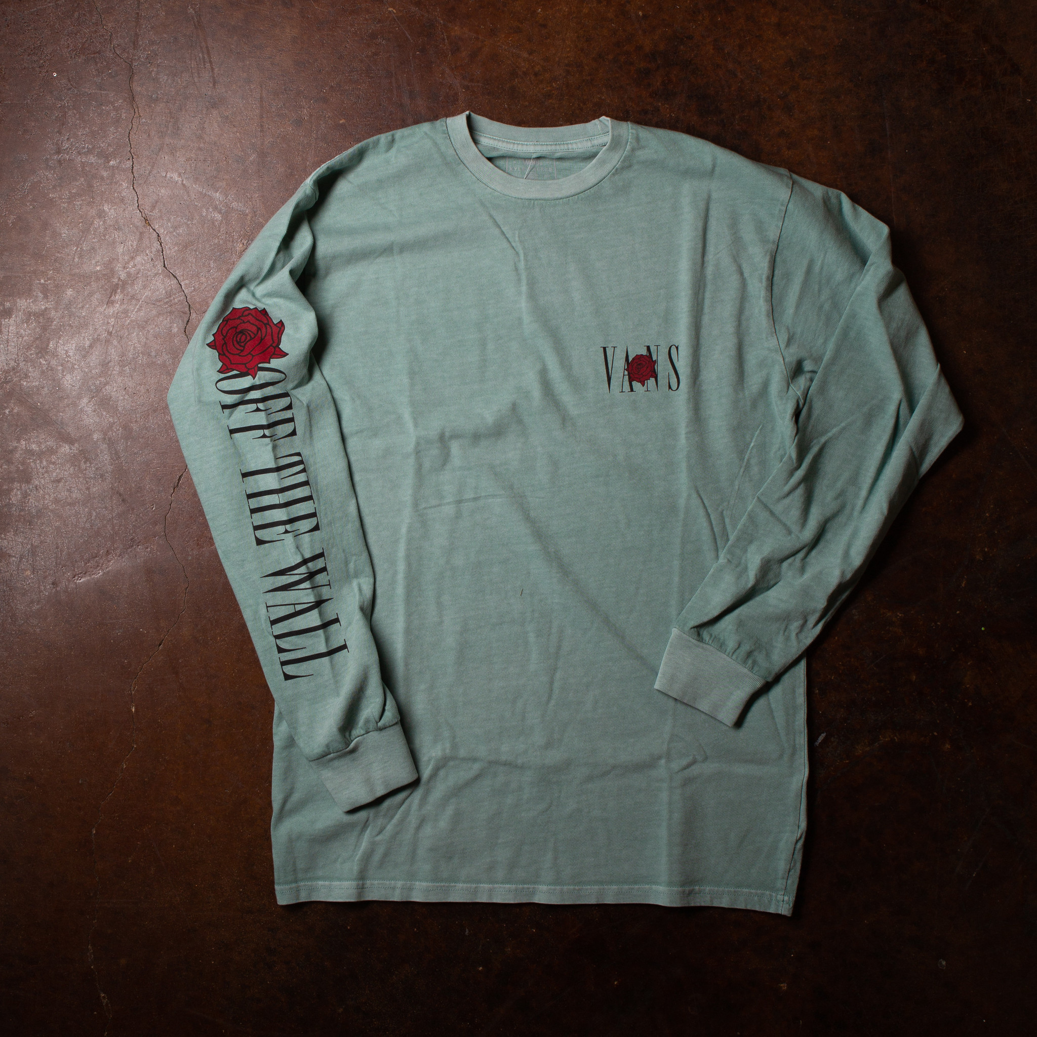 Vans Kyle Walker Rose Long Sleeve Tee