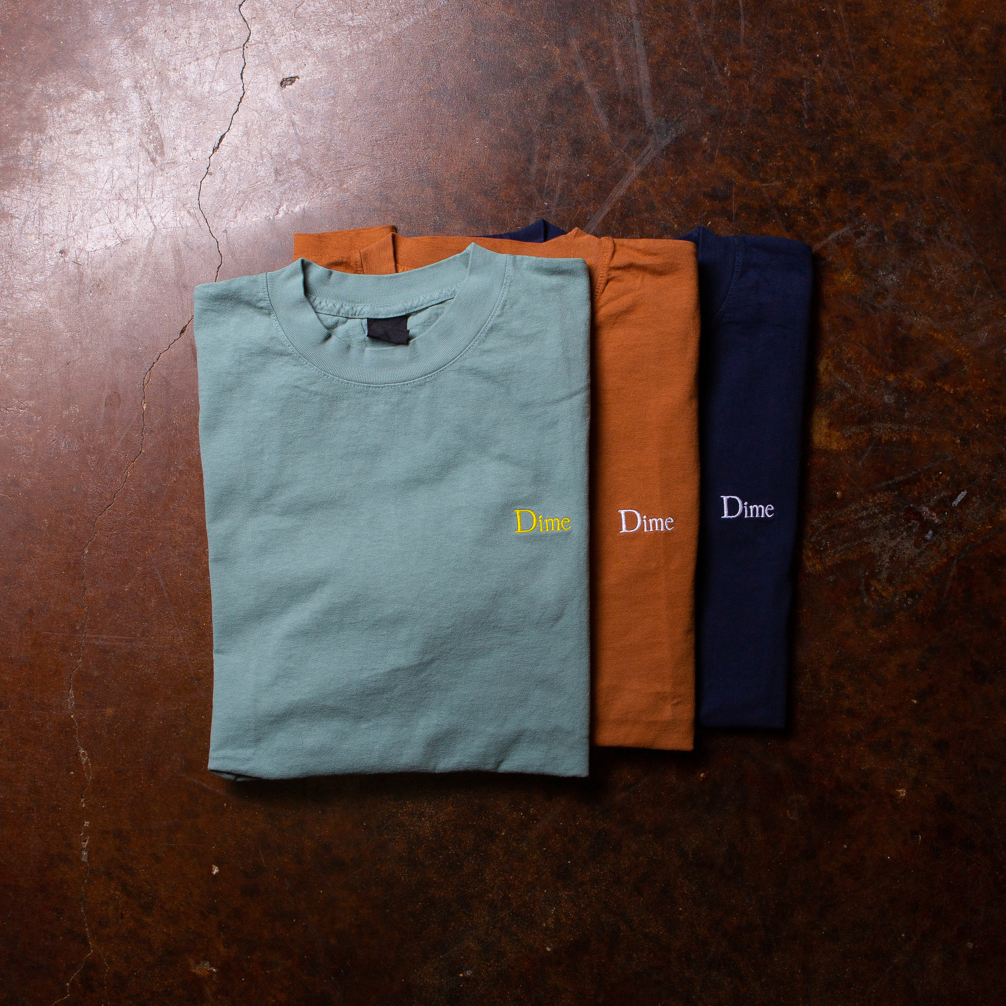 Dime Classic Logo Embroidered Tee