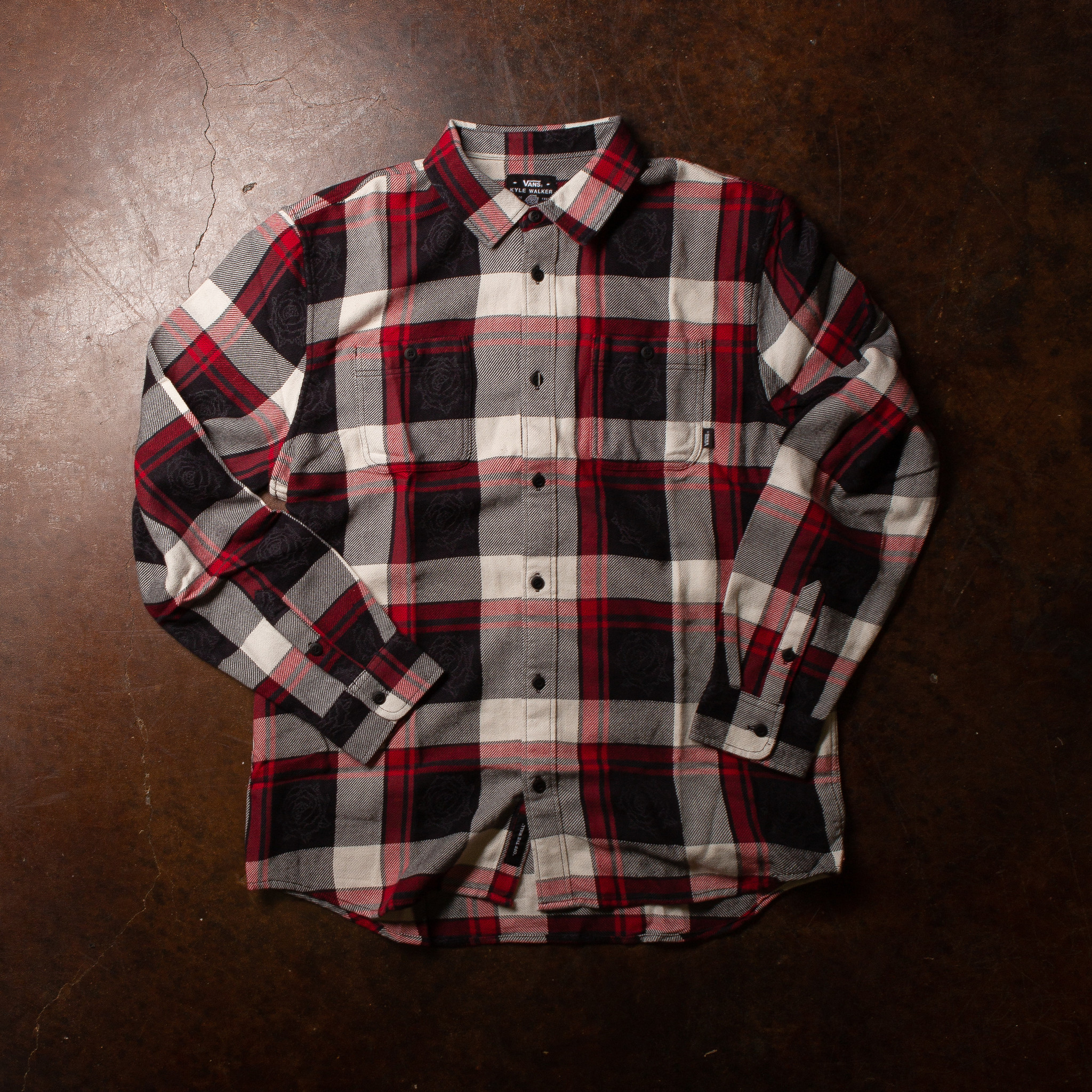 Vans Kyle Walker Rose Flannel
