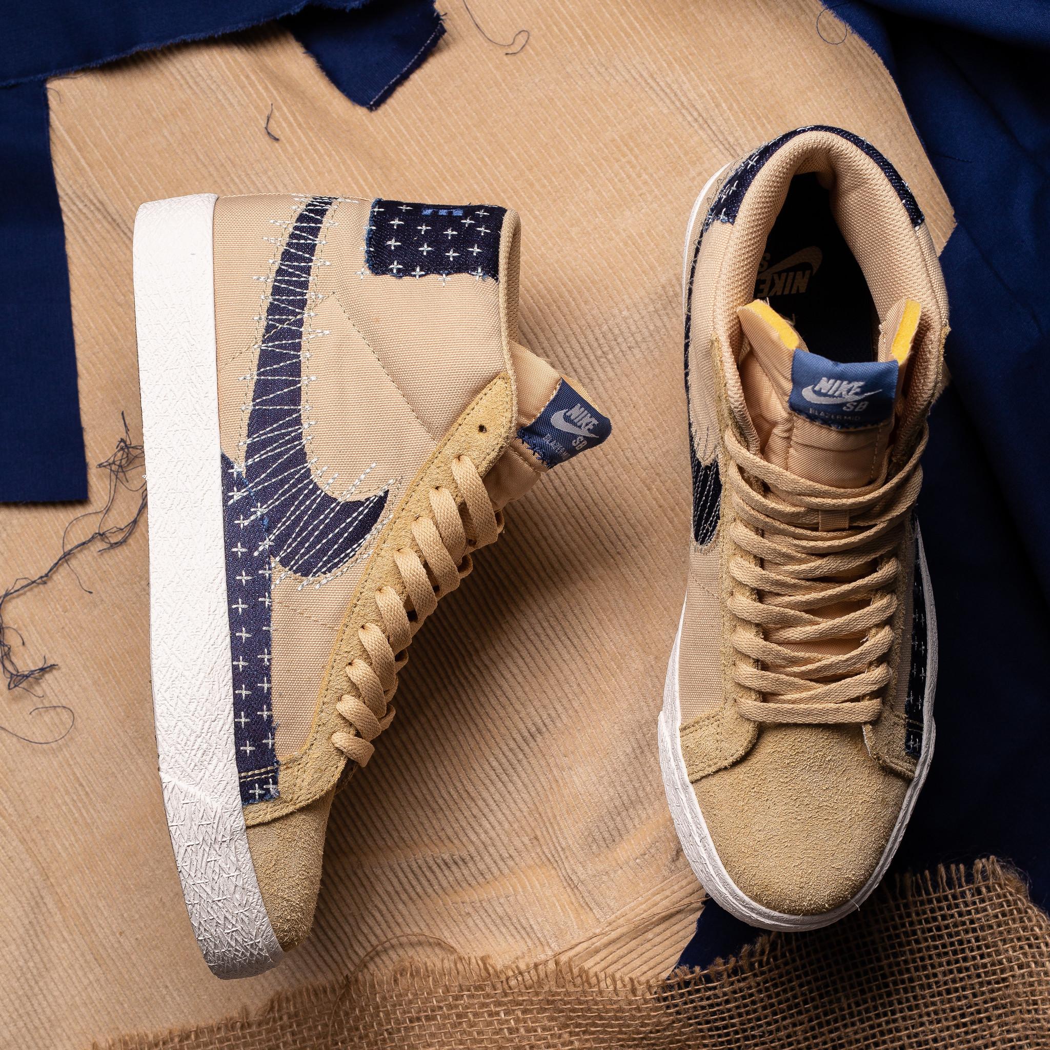 Nike SB Nike SB Blazer Mid 'Sashiko' sesame/mystic navy