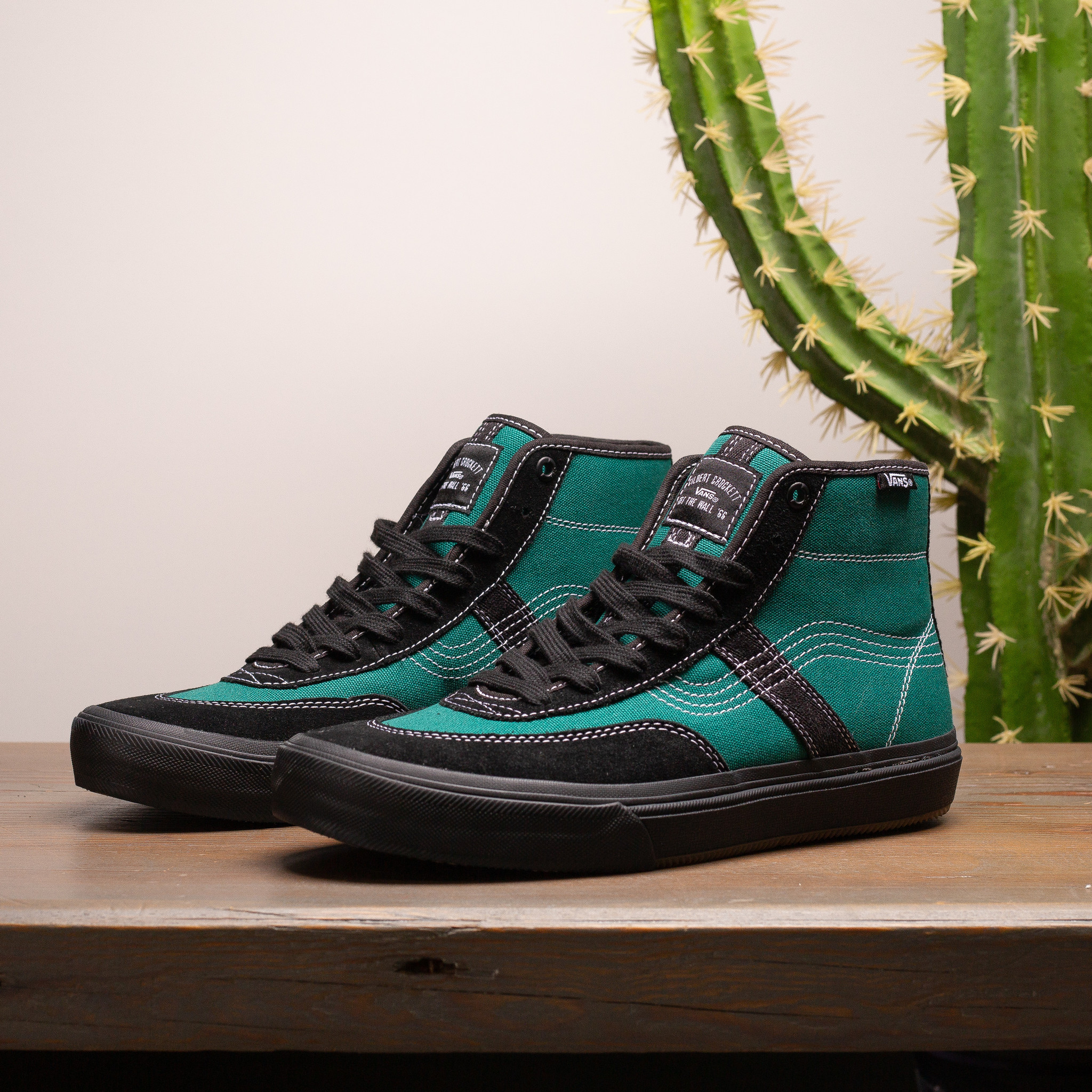 Vans Vans x Quasi Crockett High Pro Antique Teal/Black