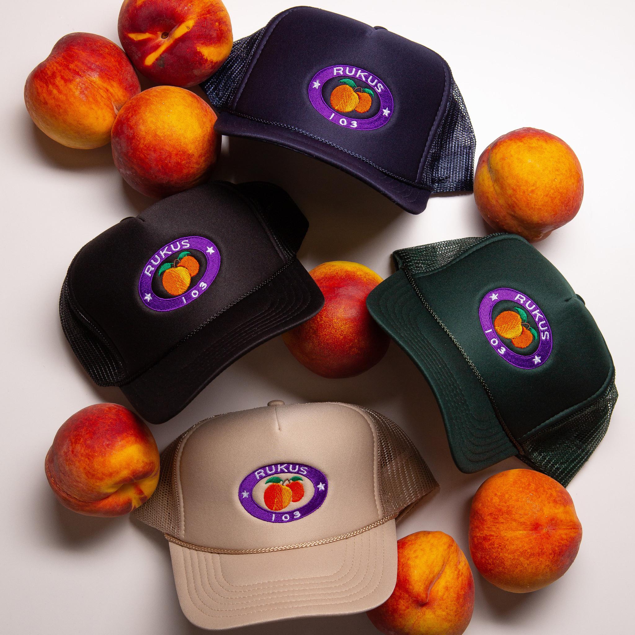 Rukus Peach Trucker Hat