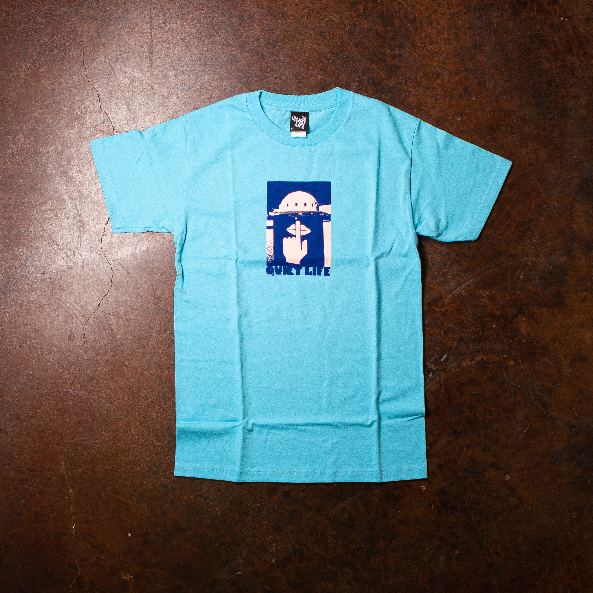 The Quiet Life Integretron Tee Blue