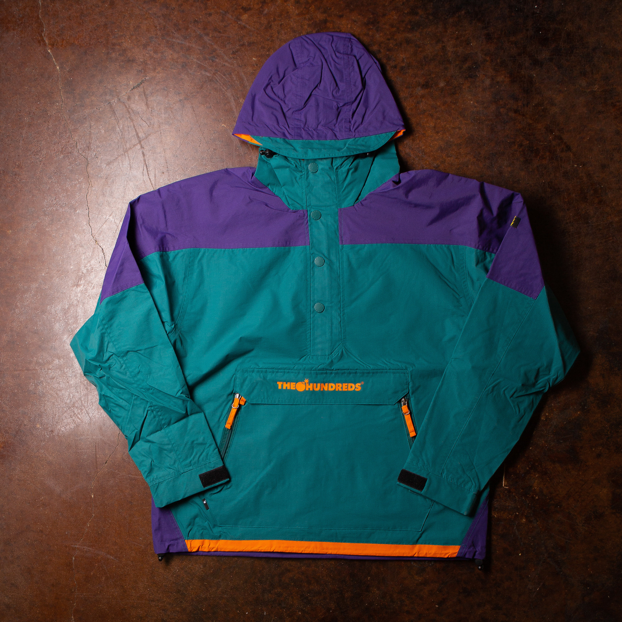 The Hundreds Rover Anorak Emerald