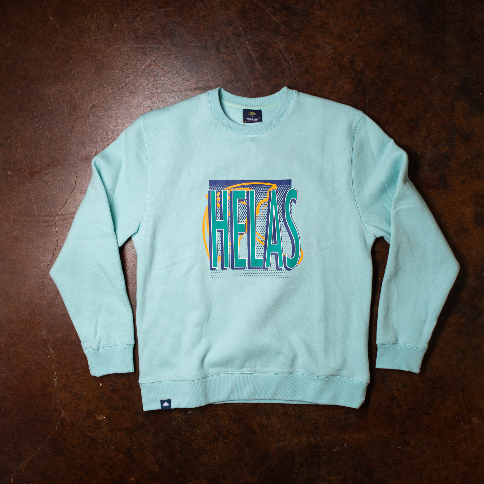 Helas Smash Crewneck Mint Green
