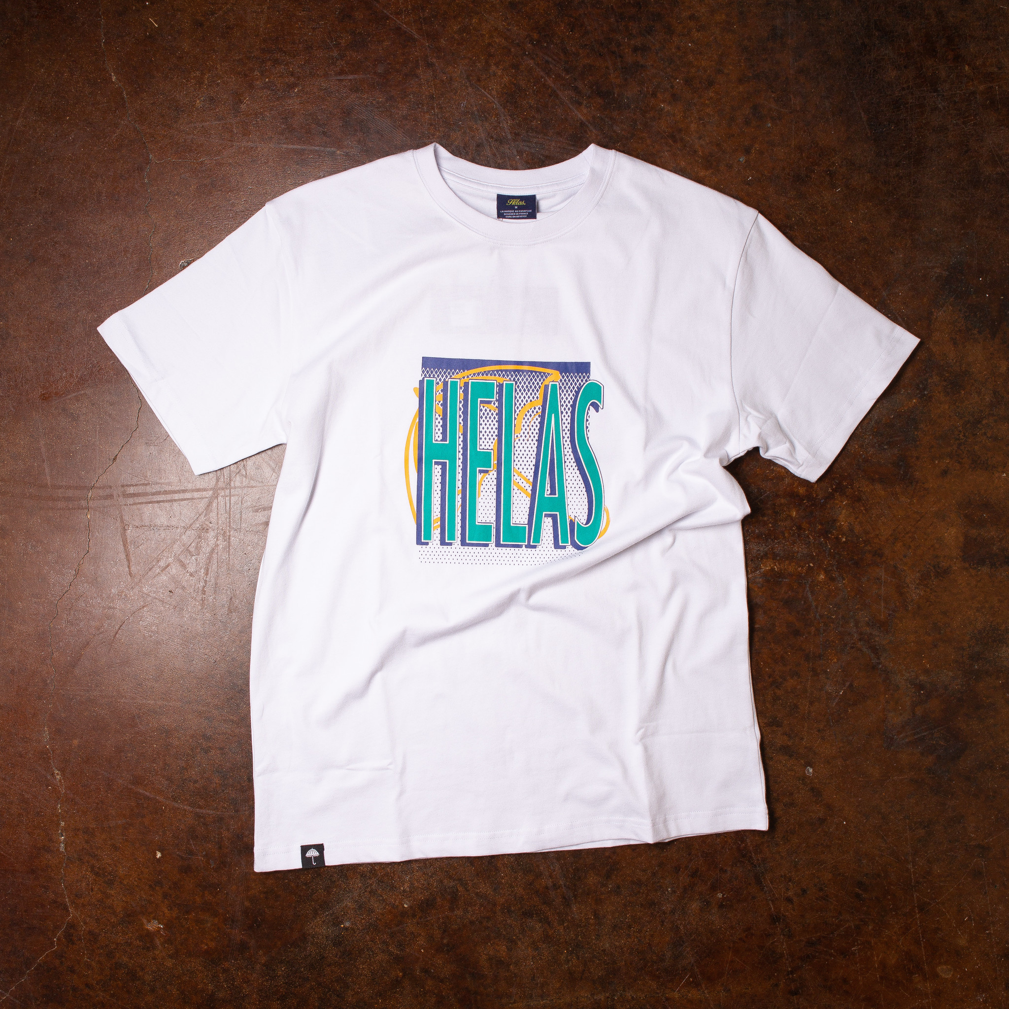 Helas Smash Tee White