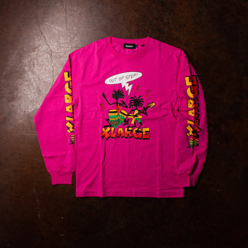 XLarge Out Of Step long sleeve