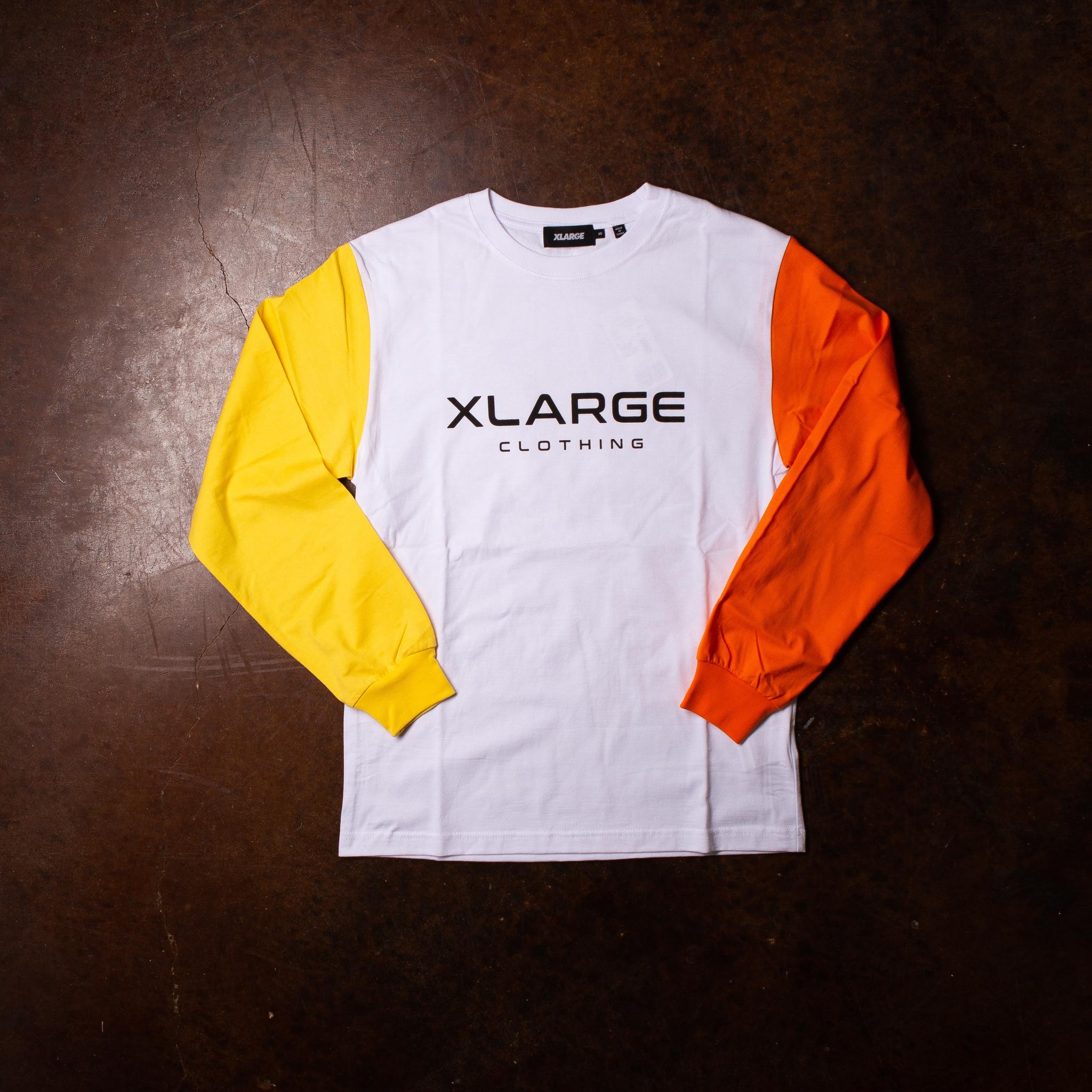 XLarge Tri Color Long Sleeve