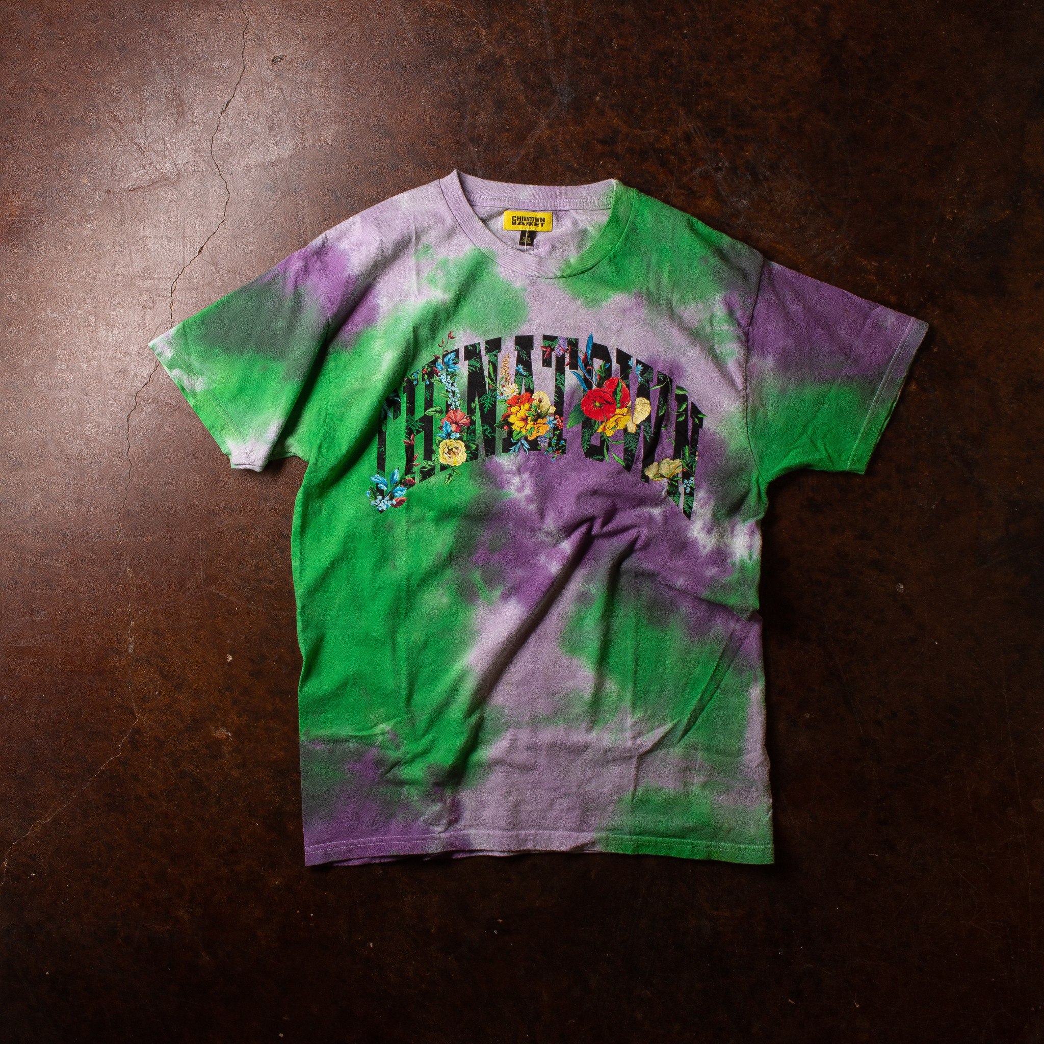 Chinatown Market Chintown Flower Arc tie dye