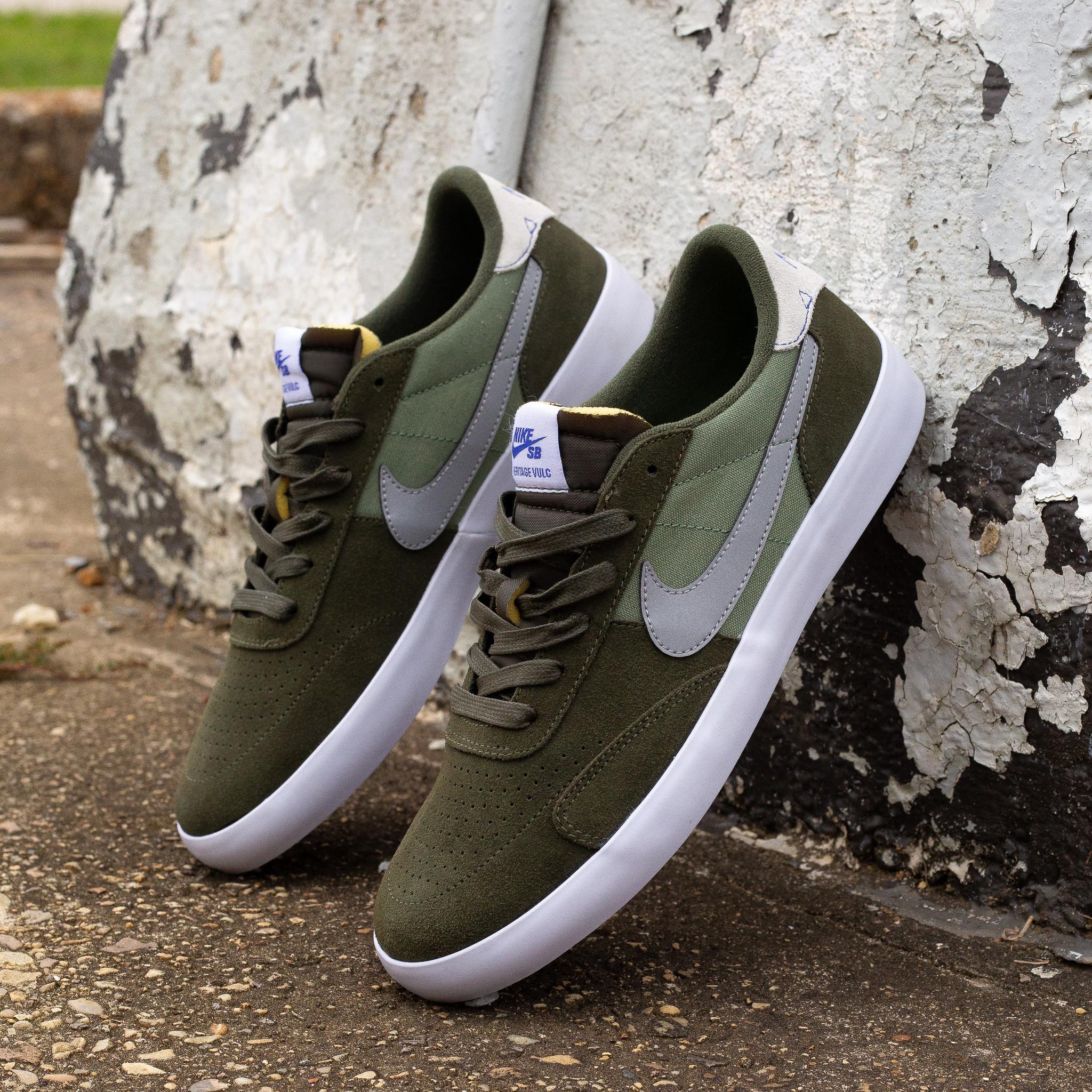 Nike SB Heritage Vulc Cargo Khaki