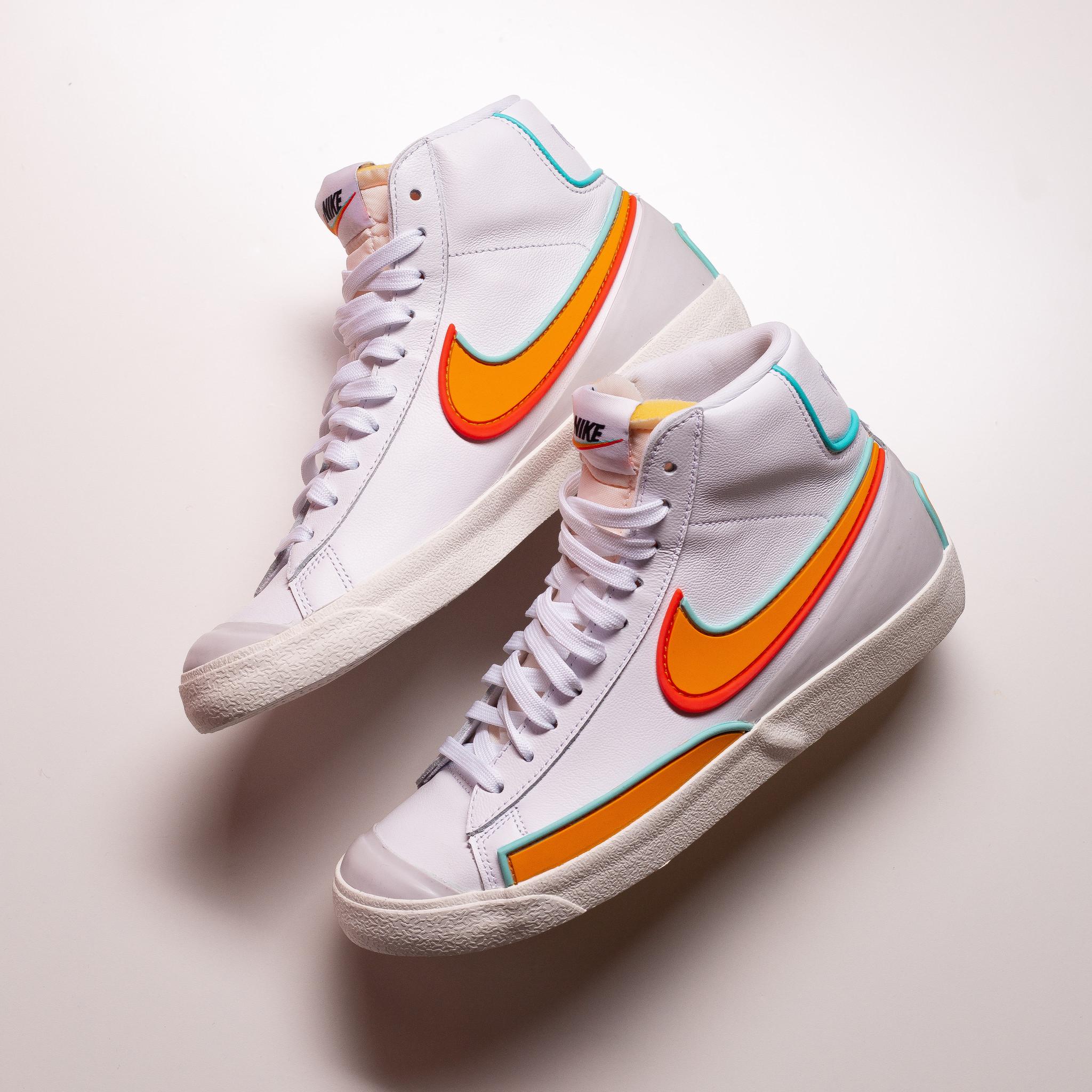 Nike Blazer Mid '77 Infinite White/Aurora Green