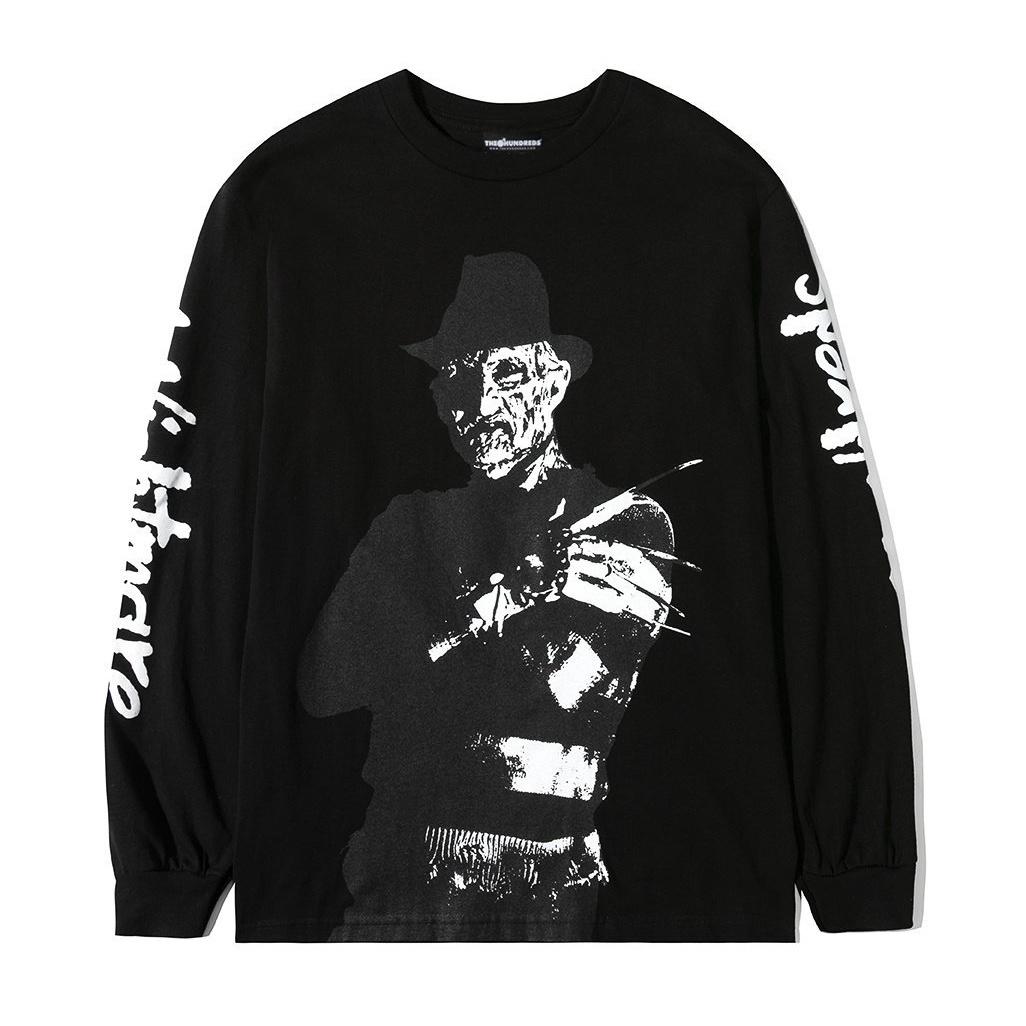 The Hundreds The Hundreds x Nightmare on Elm Street Freddy Longsleeve