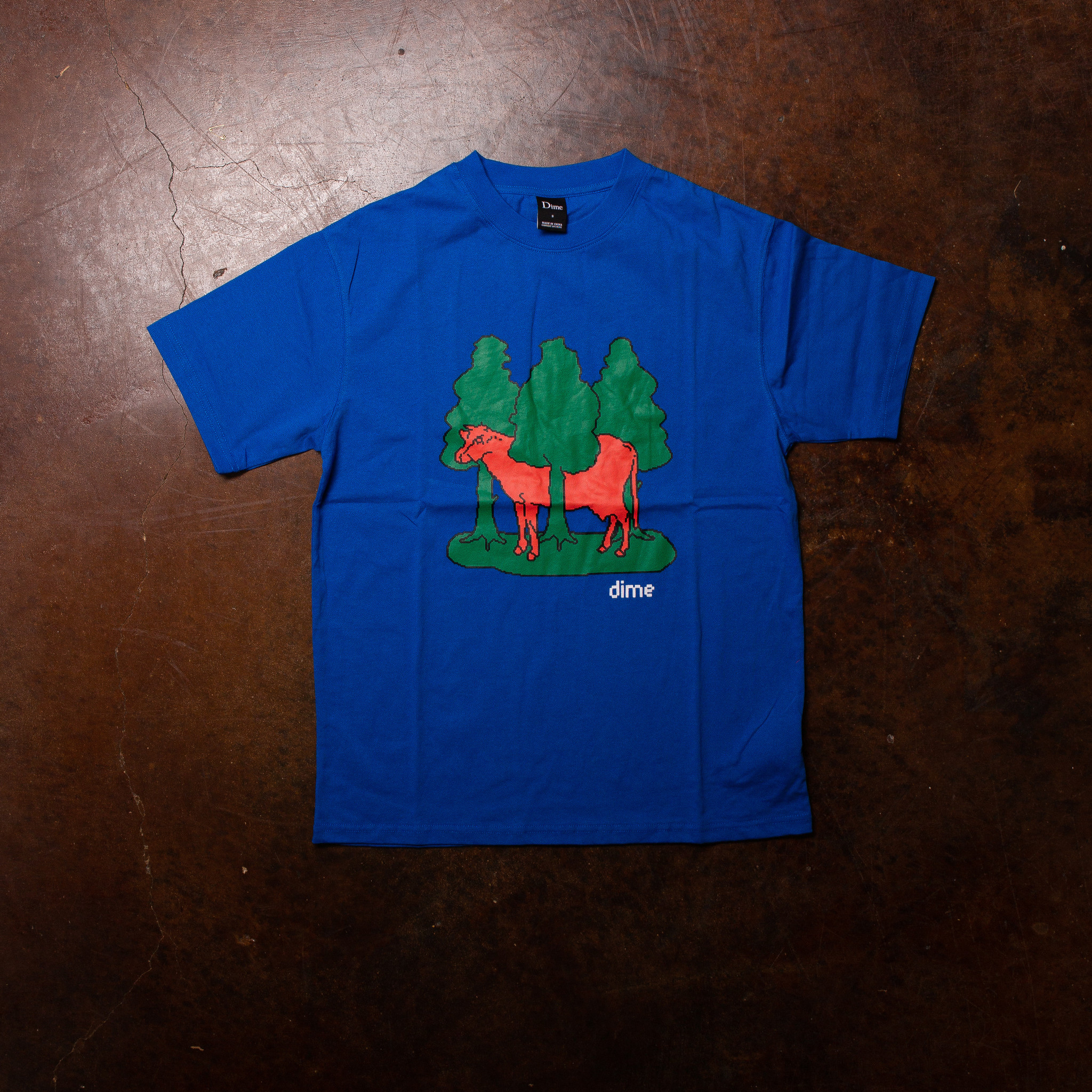 Dime Forest Cow Tee