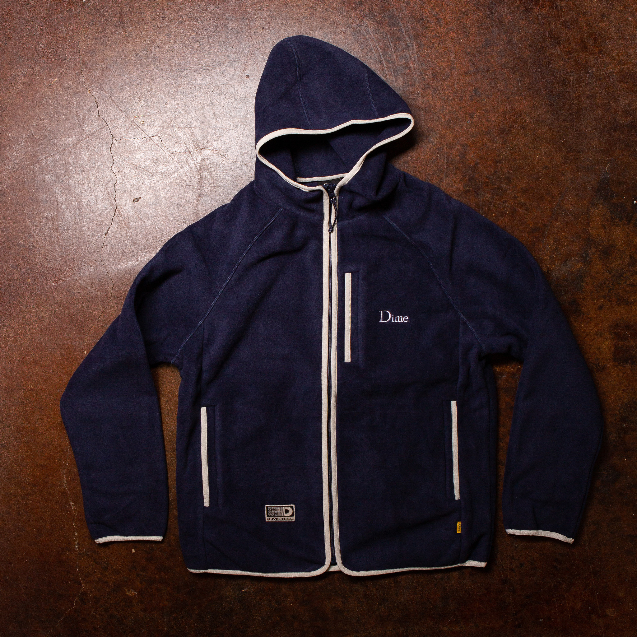 Dime Polar Fleece Hooded Jacket