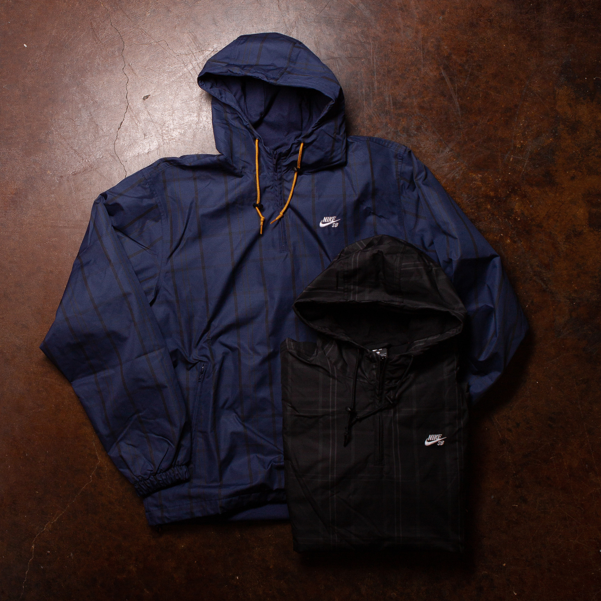Nike SB Nike SB Plaid Nylon Anorak Jacket