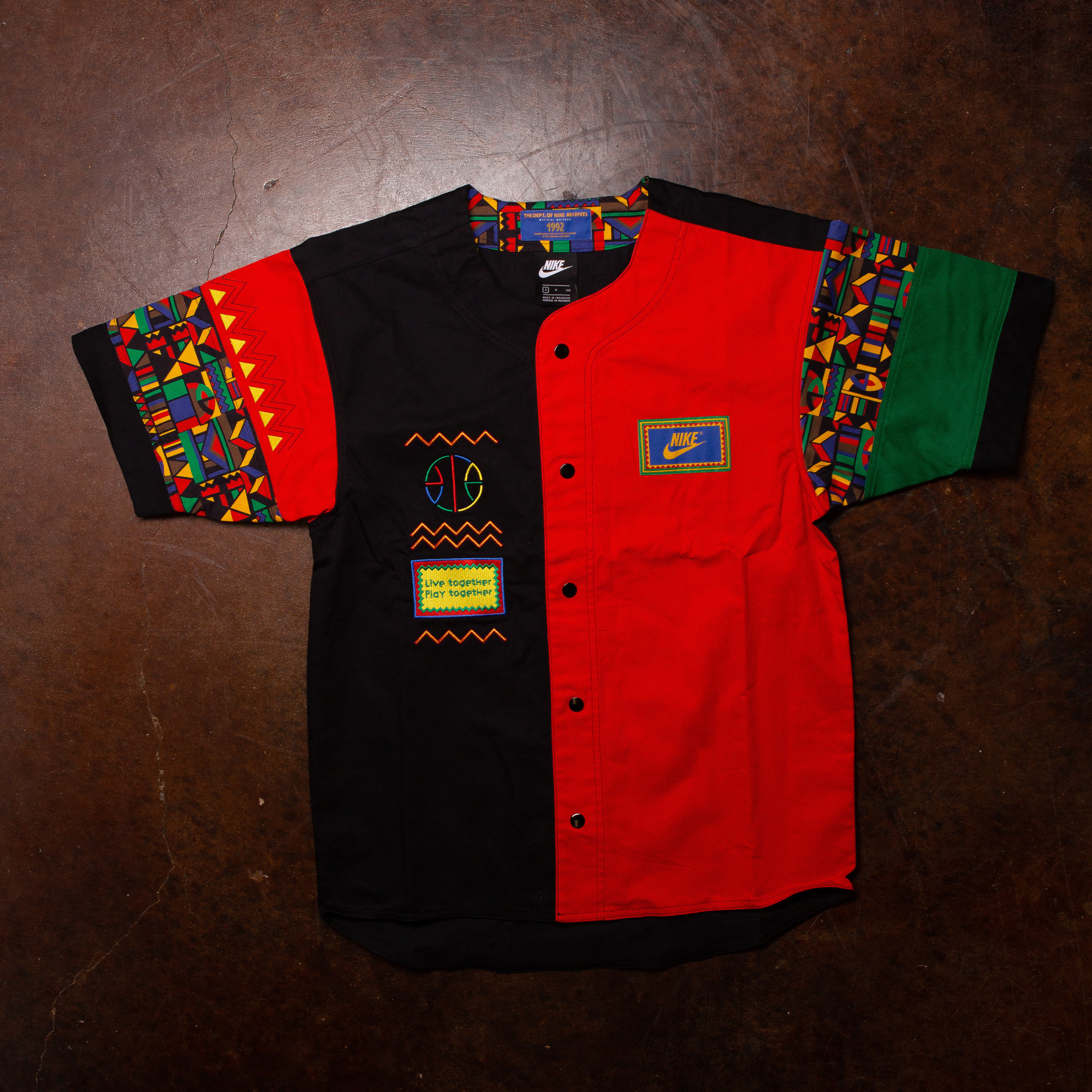 Nike Nike Button Up Urban Jungle Jersey Re-Issue