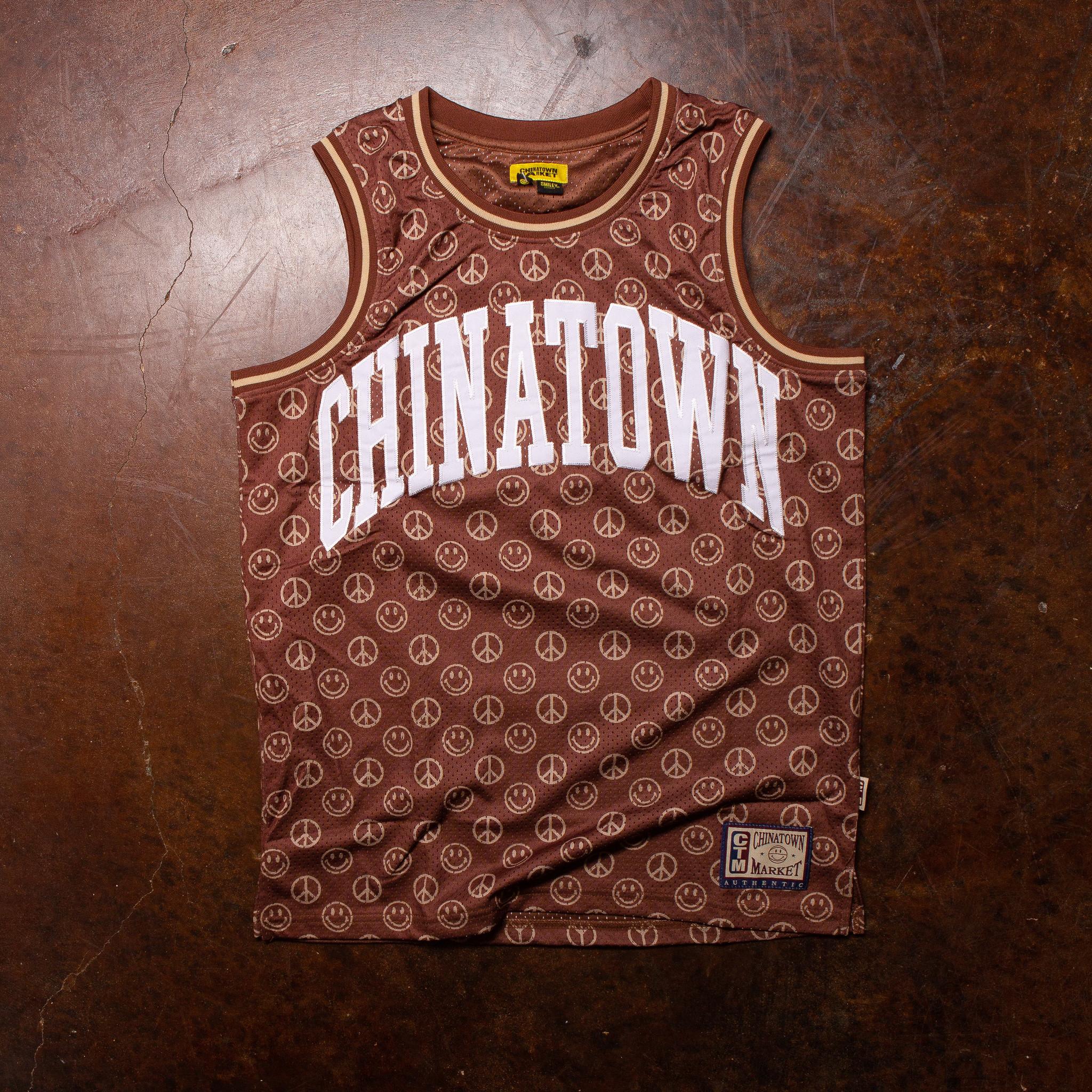 Chinatown Market Smiley Cabana Basketball Jersey