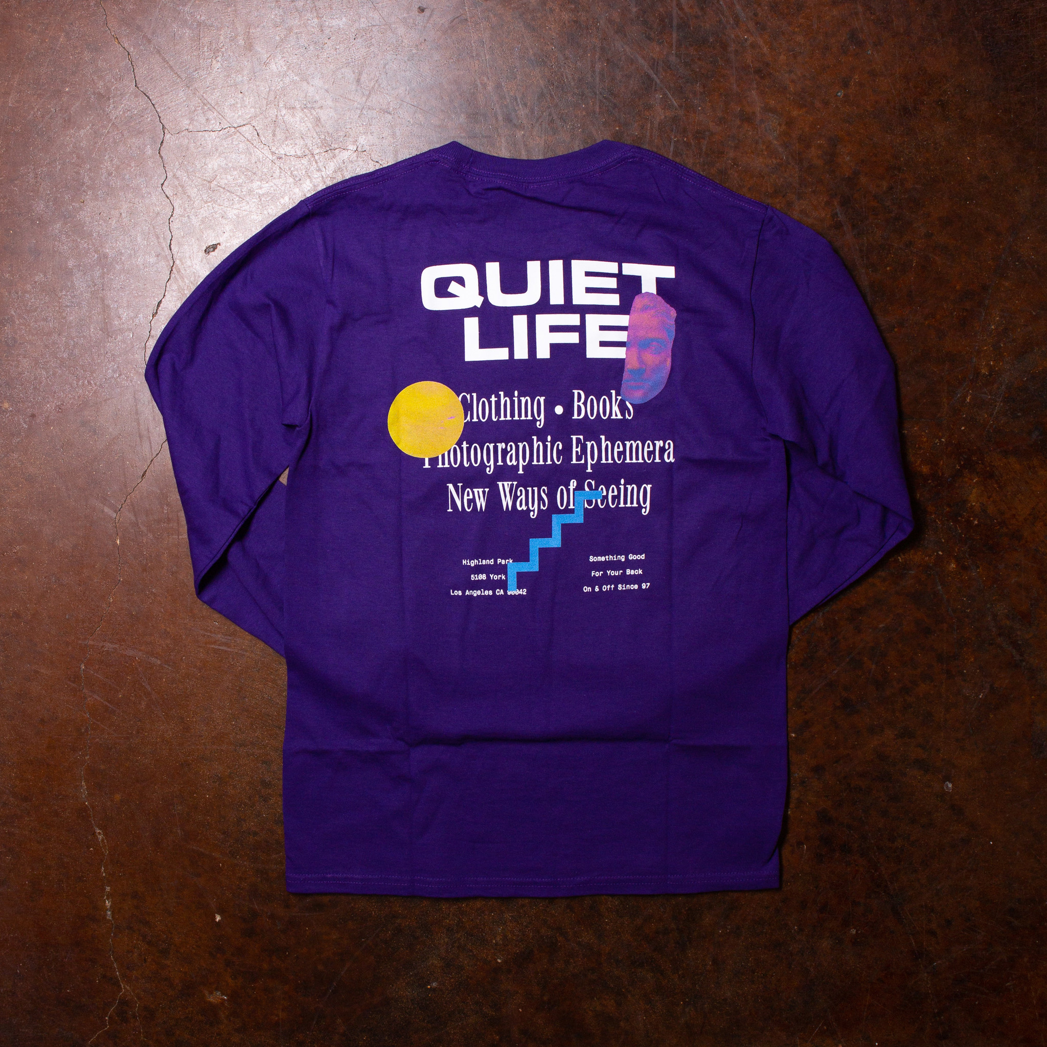 The Quiet Life The Quiet Life New Ways Long-Sleeve  Purple