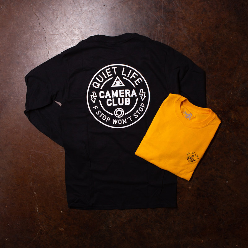 The Quiet Life Won't Stop Long-Sleeve