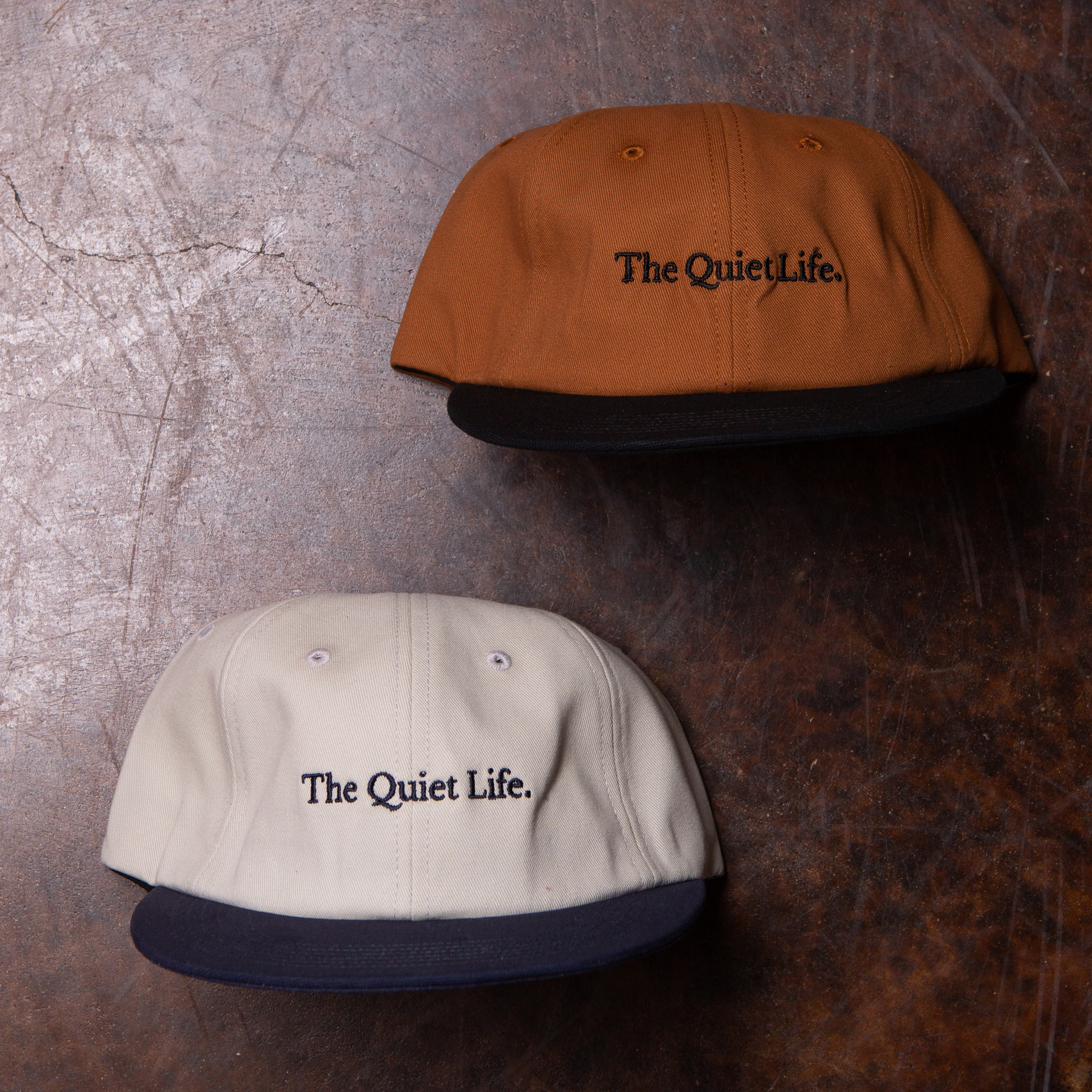 The Quiet Life Serif  Polo Hat