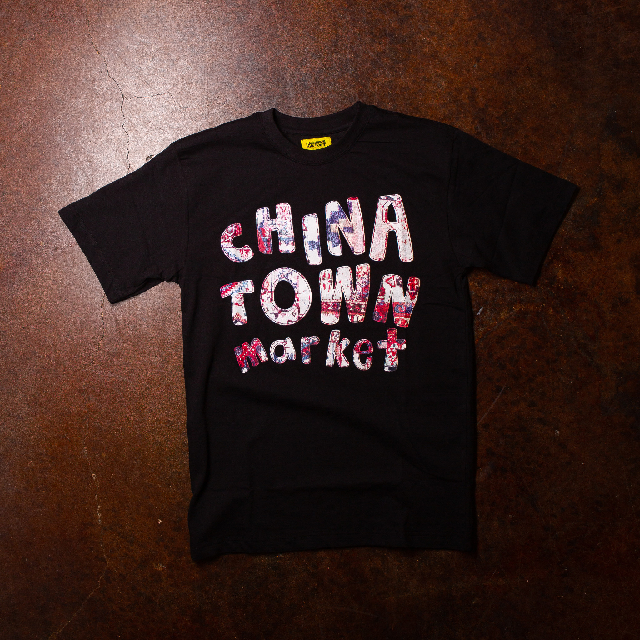 Chinatown Market Patchwork Tee