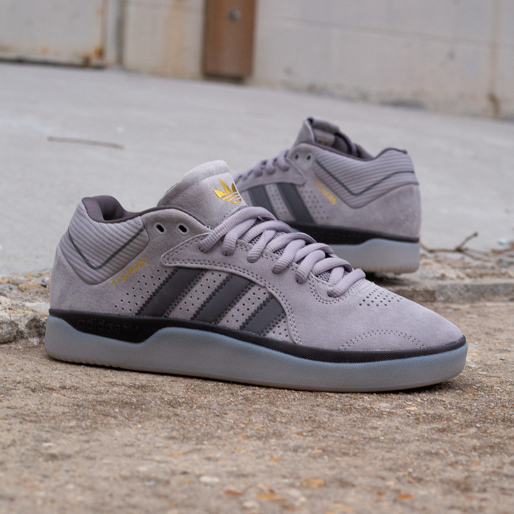 adidas Tyshawn Granite/Grey
